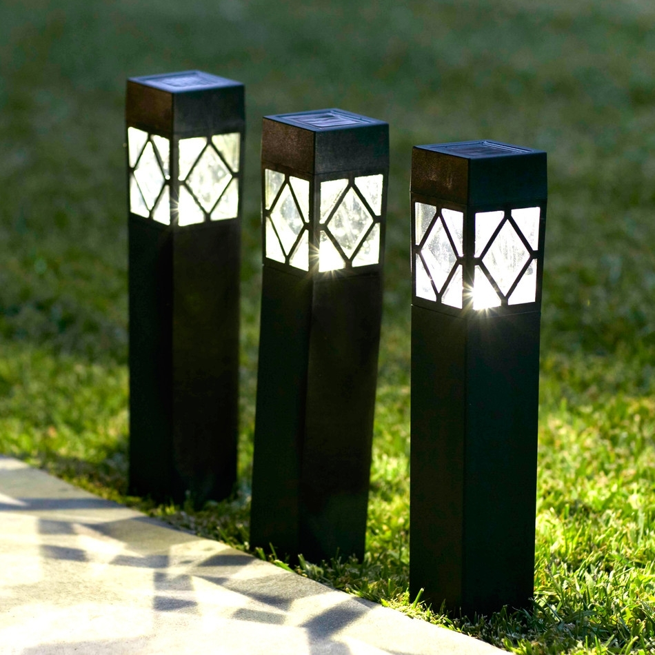 Image of: Garden Led Lights Outdoor Bollard Lighting Style