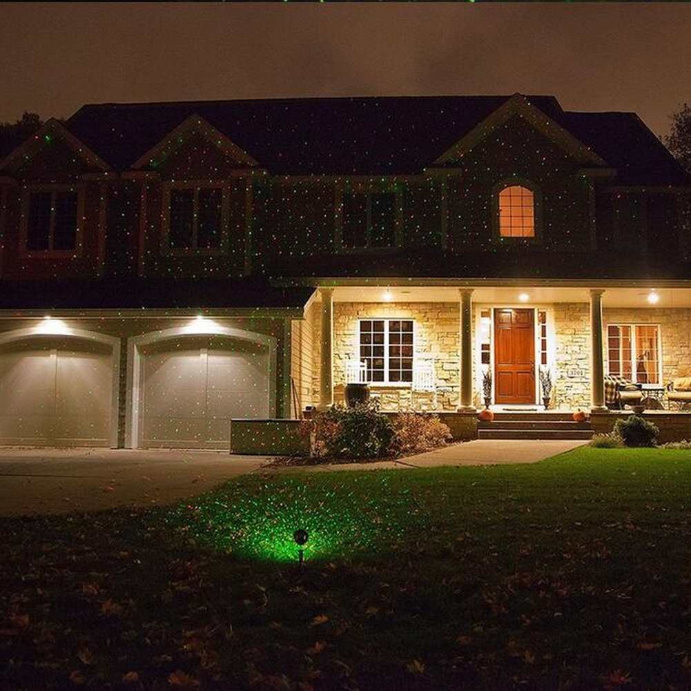 Image of: Gaxmi Red Green Led Light Landscape Spotlights Remote Control Intended For Landscape Spotlights Wonderful Landscape Spotlights At Night