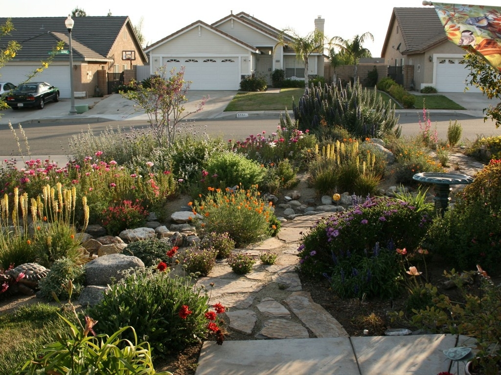 Image of: Good Drought Within Nice Drought Tolerant Landscape Design