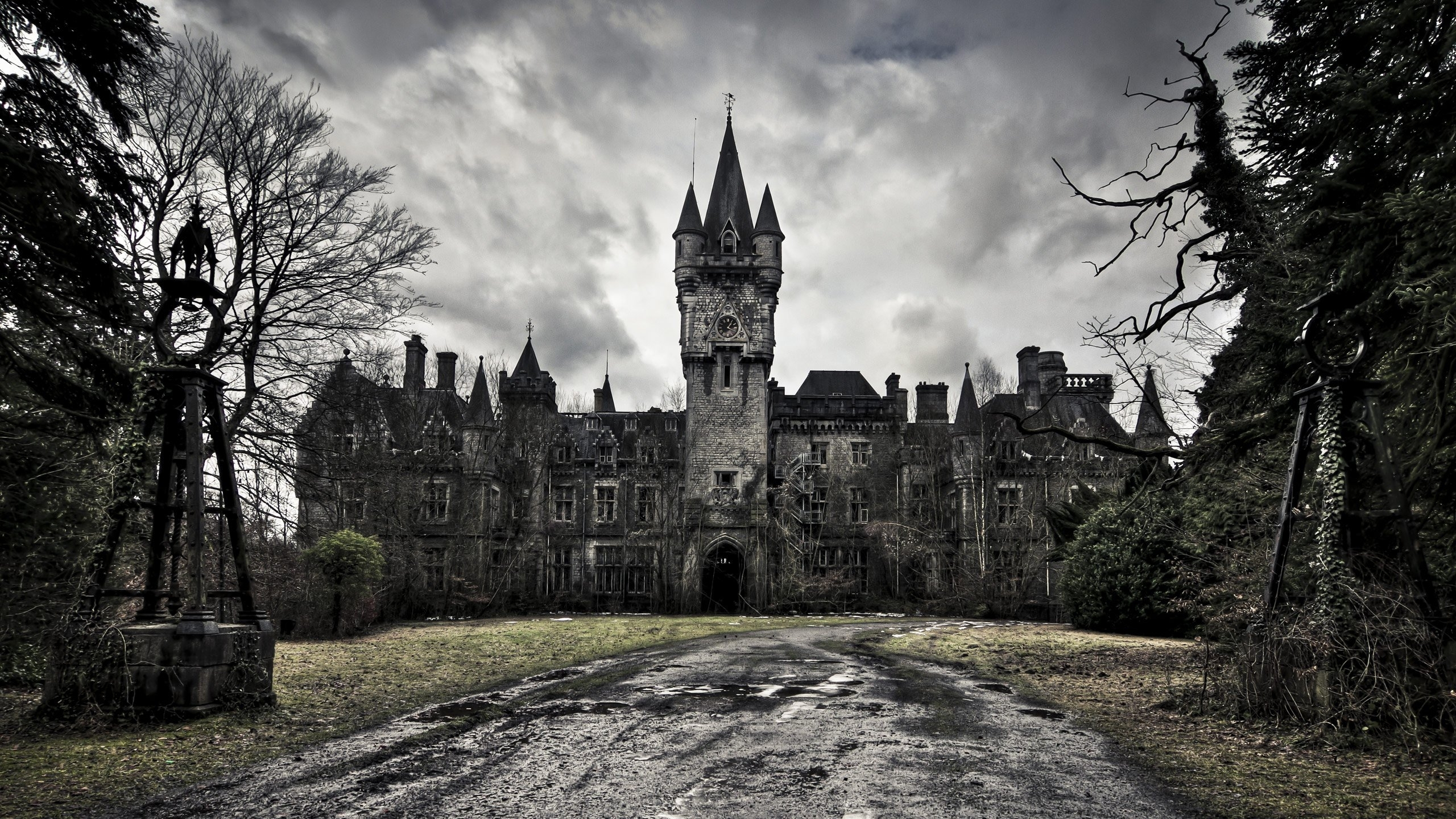 Image of: Gothic Castle Wallpaper Picture With Wallpapers Wide Resolution 3d Regarding Gothic Landscape Gothic Landscape Ideas