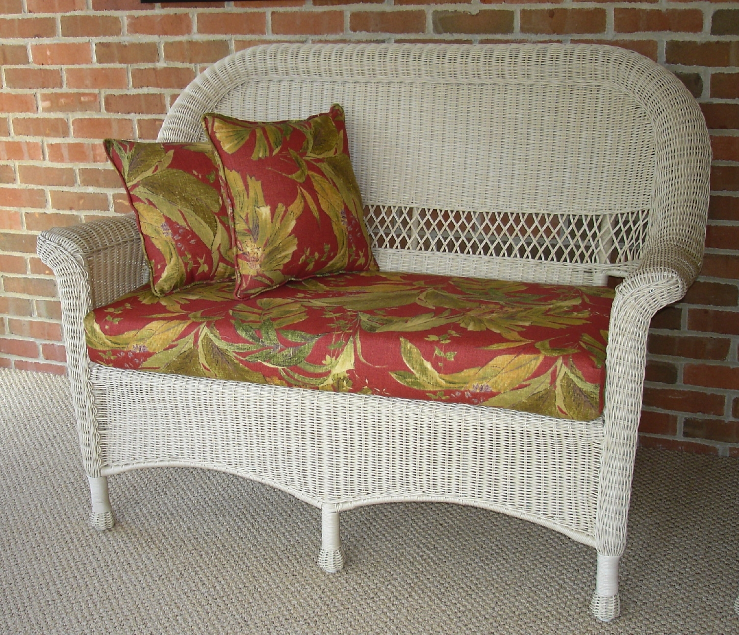 Great For Wicker Seat Cushions The Homy Design Pertaining To Outdoor Wicker Seat Cushions Very Elegant Outdoor Wicker Seat Cushions