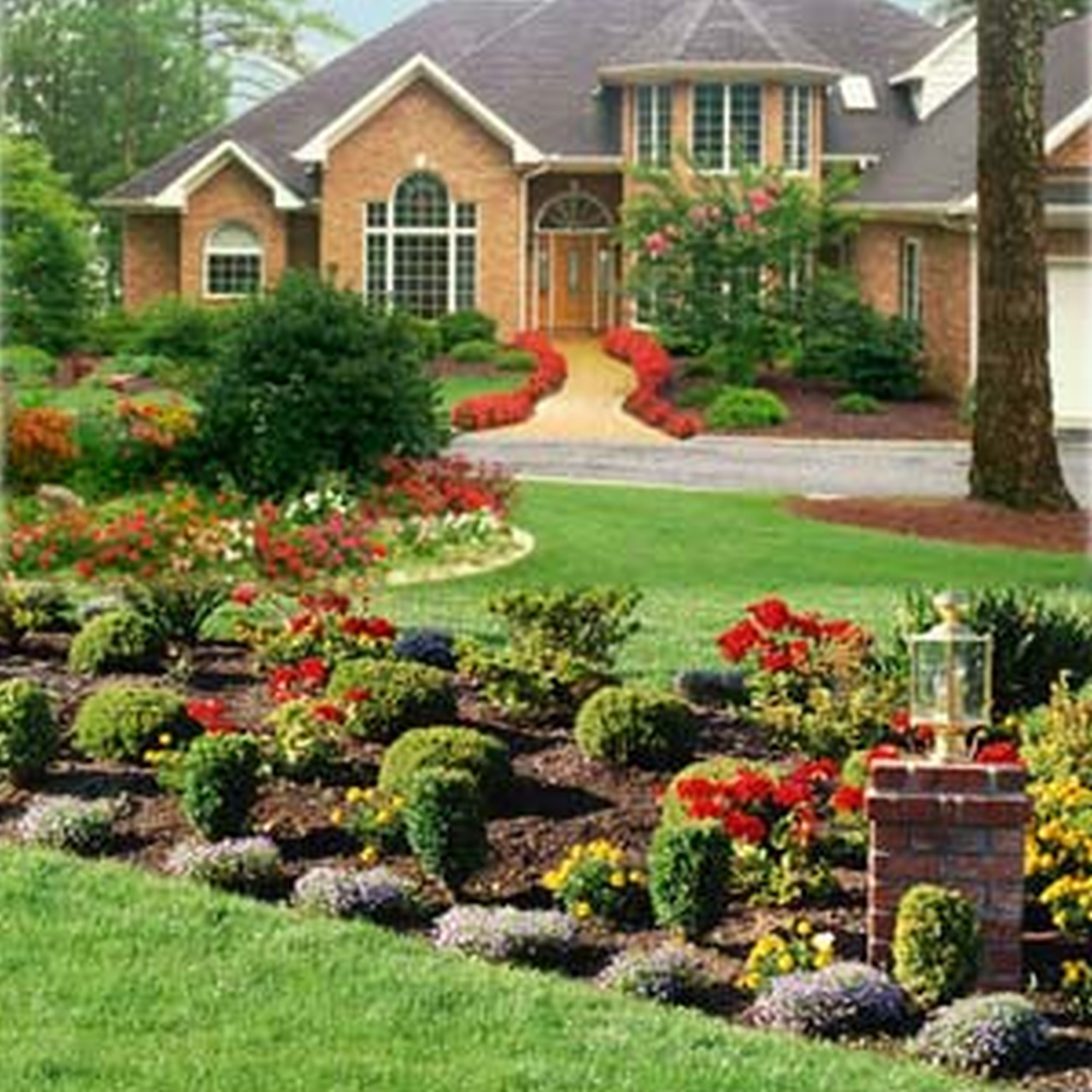 Image of: Great Rms Nick Front Yard Fall Srendhgtvcom Landscaping Ideas Throughout Front Yard Landscaping Ideas Appealing Front Yard Landscaping Ideas