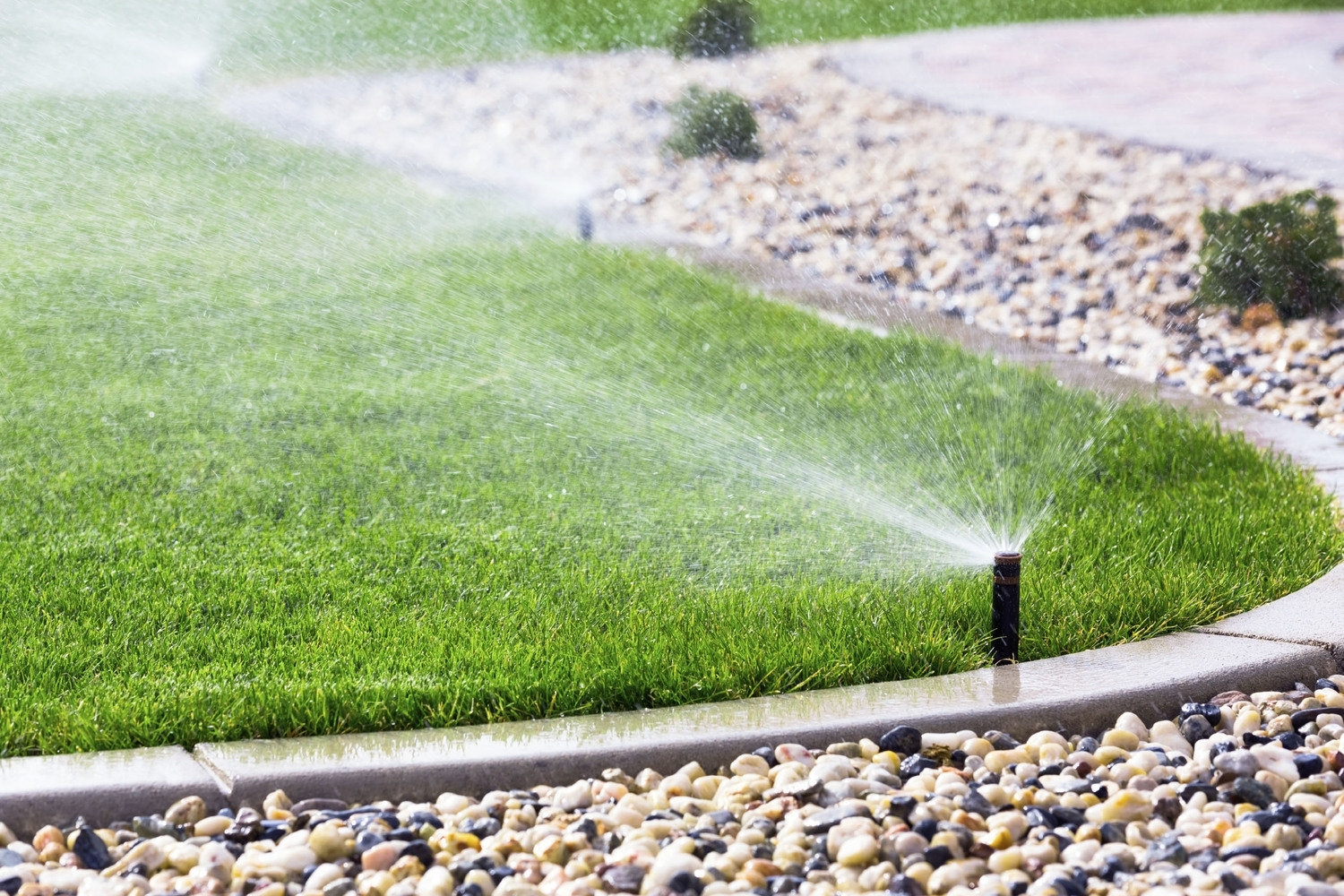 Green Acres Lawn Sprinklers Throughout Landscape Sprinklers Find Out Ideal Landscape Sprinklers