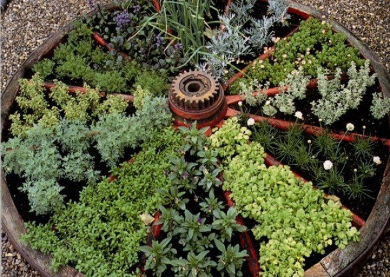 Image of: Herbs For Every Size Garden Edible Garden Inspiration Regarding Edible Landscape Design Good Ideas Edible Landscape Design