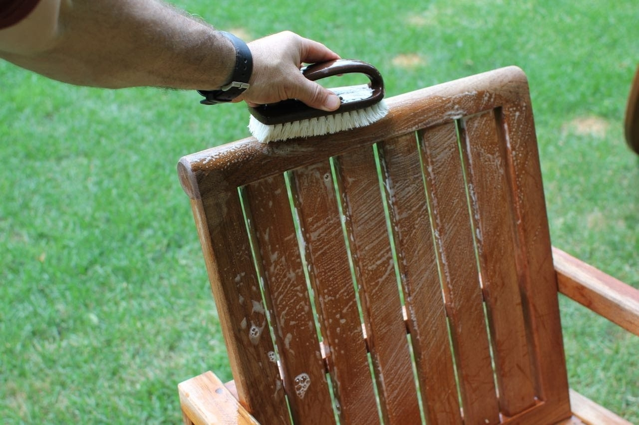 Image of: How To Clean Teak Furniture Youtube With Regard To Cleaning Outdoor Teak Furniture Ideal Cleaning Outdoor Teak Furniture