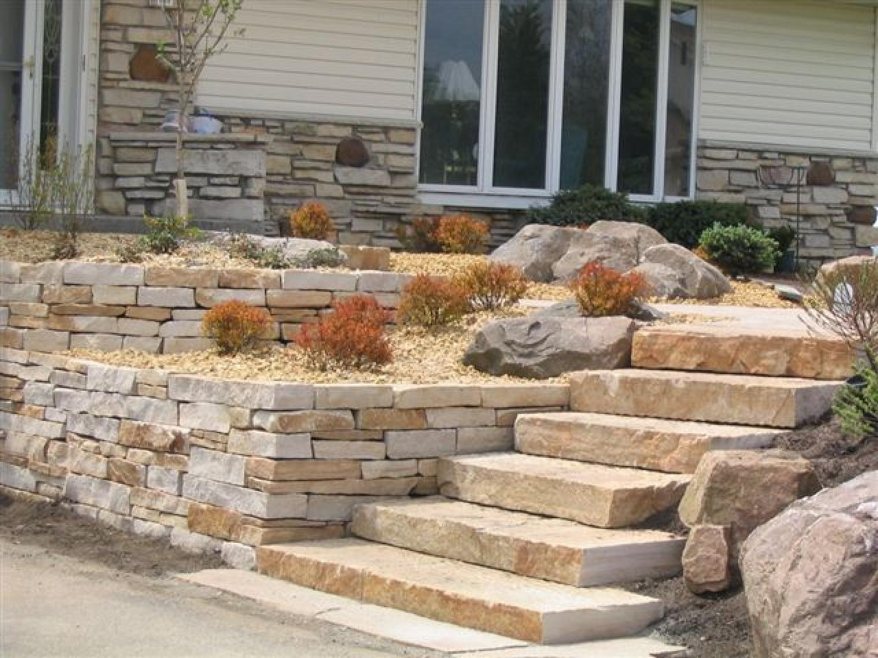 Image of: How To Create A Successful Hardscape Hgtv Throughout Hardscape Landscaping Hardscape Landscaping A Hill