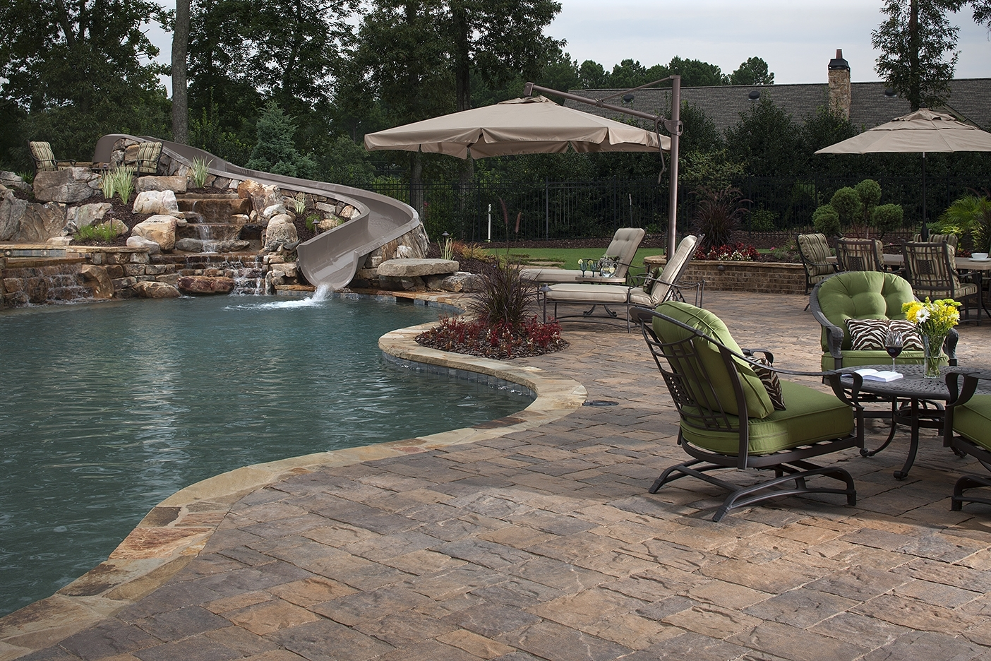 Image of: How To Landscape Around An Inground Pool Install It Direct Pertaining To Inground Pool Landscaping Inground Pool Landscaping Ideas
