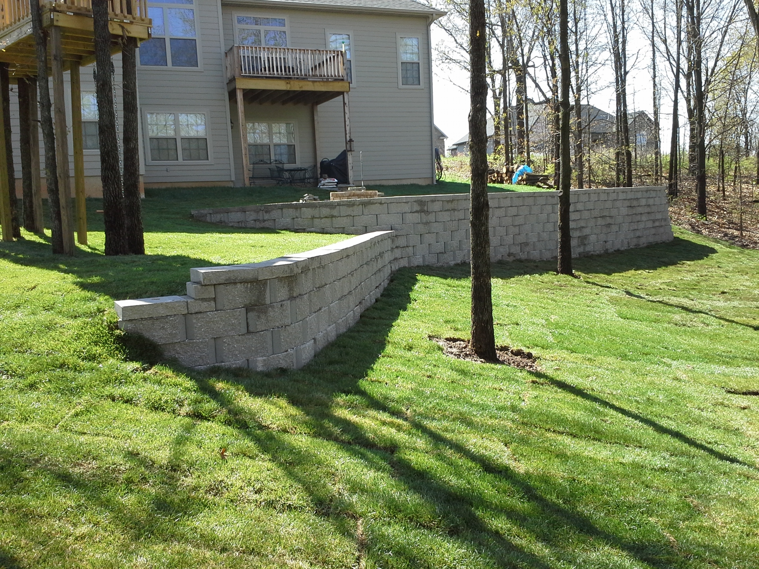 Image of: Joplin Landscaping Ss Custom Landscaping Intended For Landscape Berm Best Design Landscape Berm