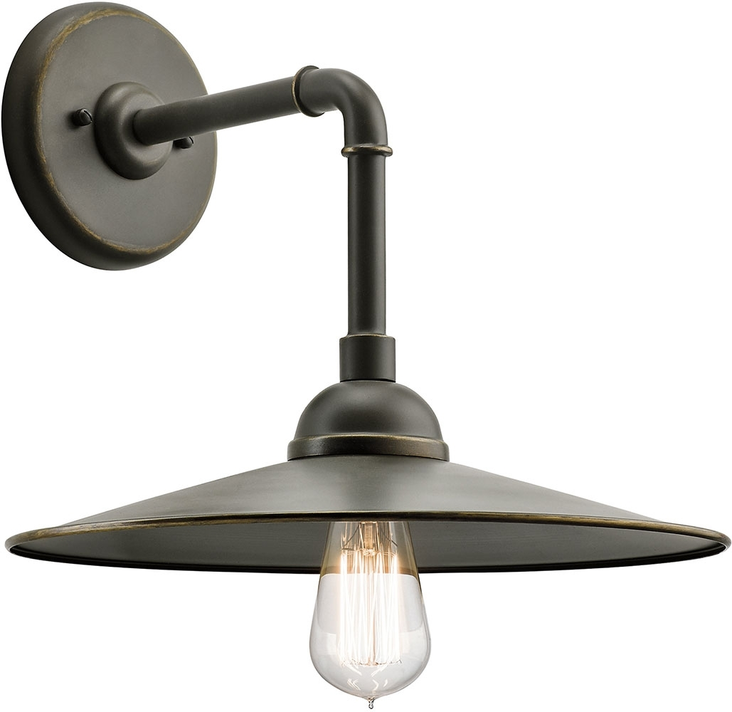 Image of: Westington Vintage Olde Bronze Kichler Outdoor Wall Lighting