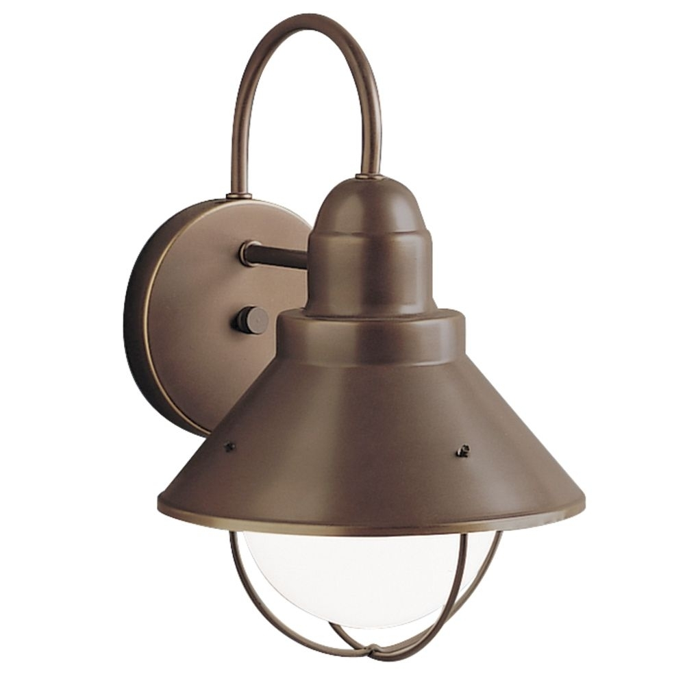 Image of: Nautical Kichler Outdoor Wall Lighting
