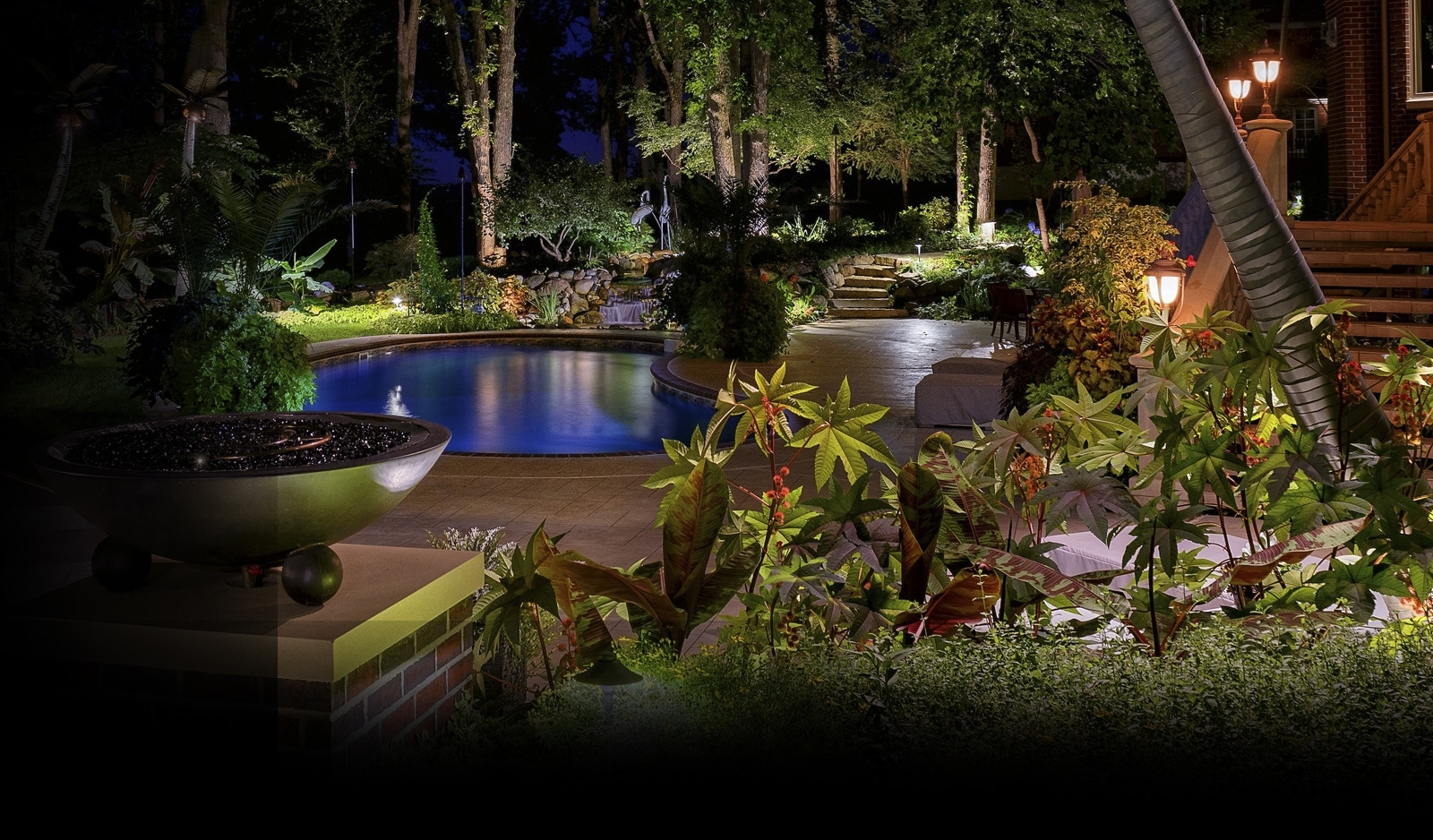 Image of: Landscape Lighting Design Santa Clarita In Outdoor Lighting Designs Outdoor Lighting Designs In Facades