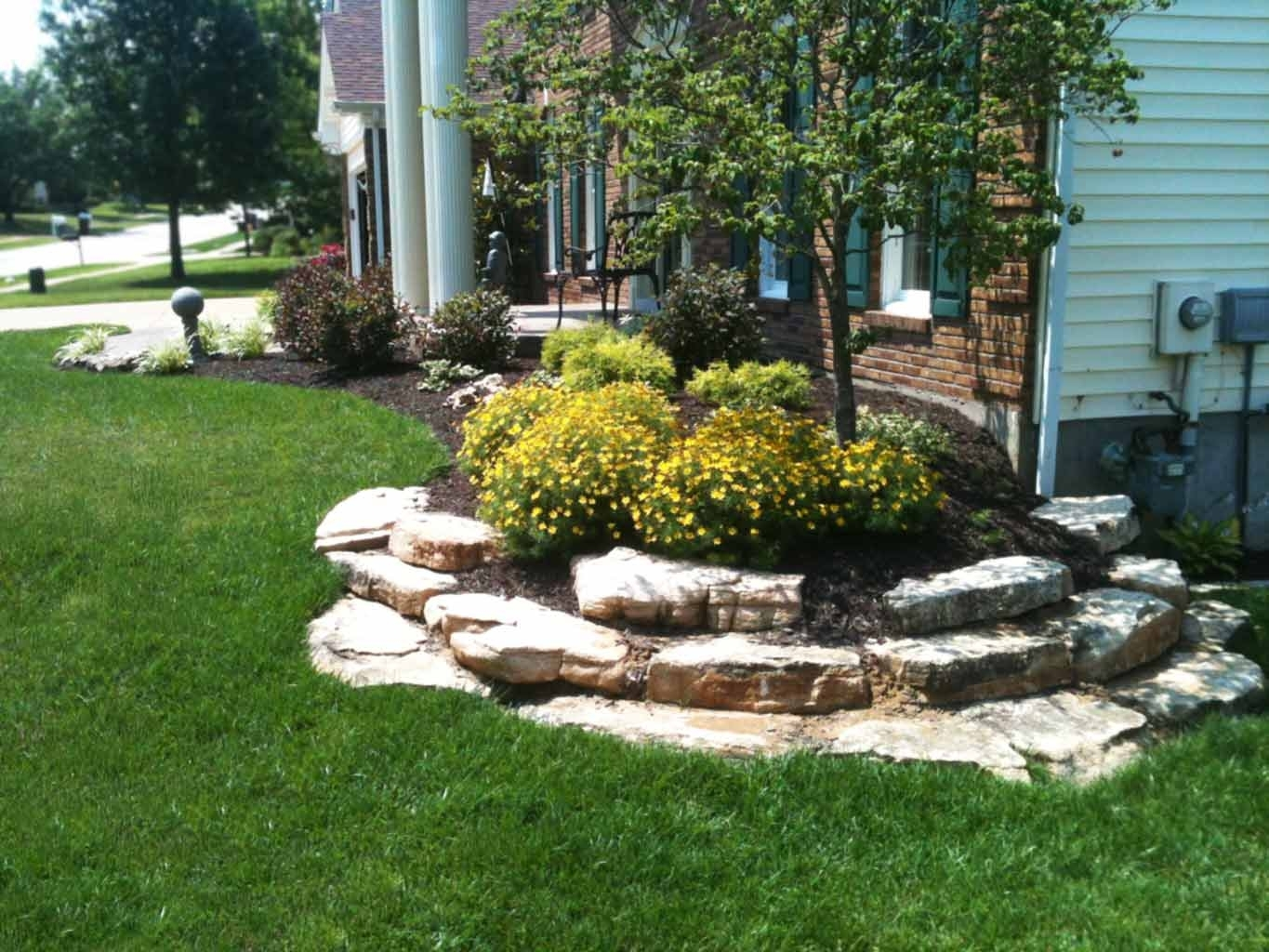 Landscaping Boulders Cost Crafts Home With Boulders For Landscaping