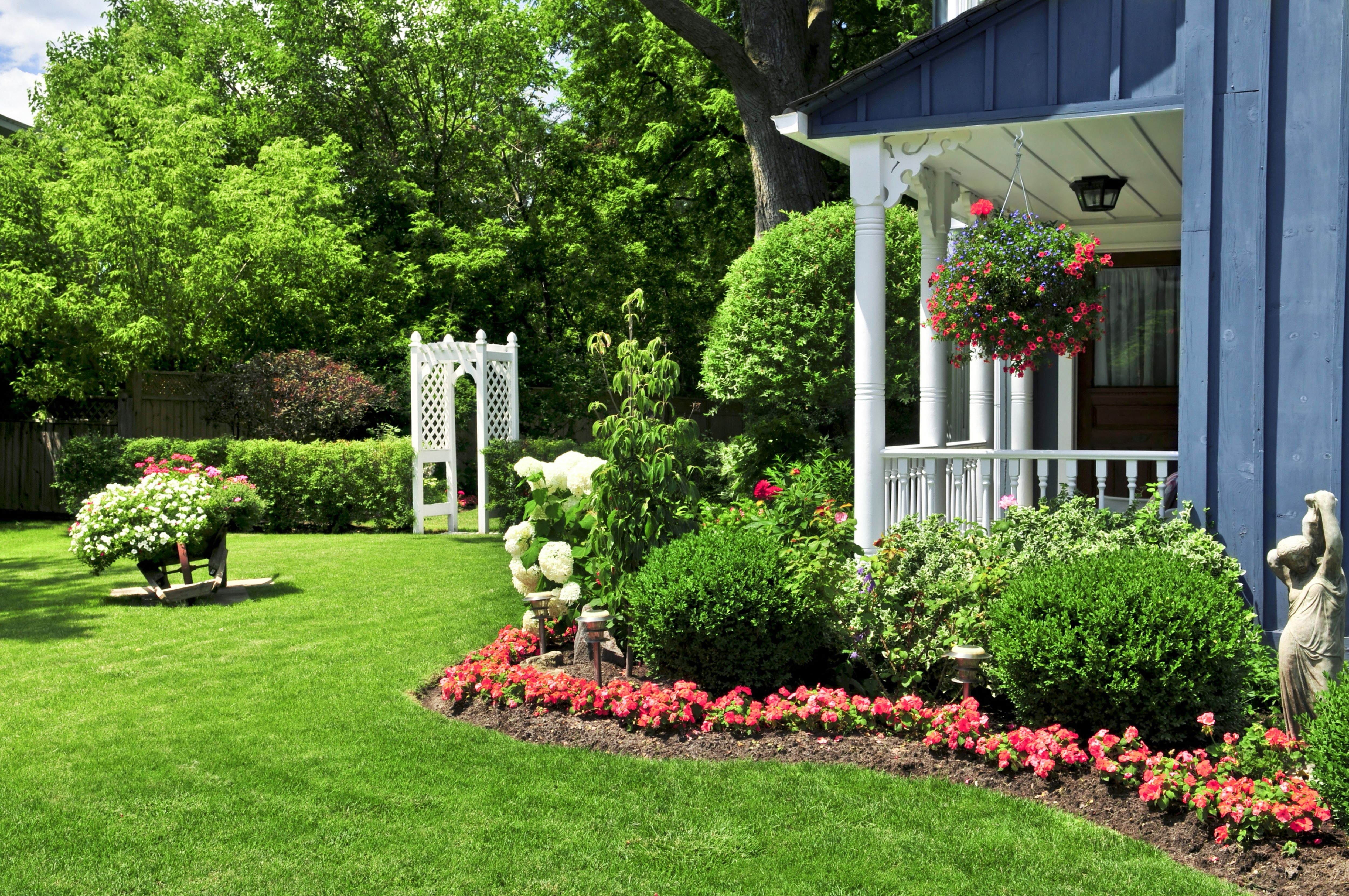 Image of: Landscaping Ideas Flowers Emu Birds Intended For Front Yard Landscaping Ideas Appealing Front Yard Landscaping Ideas