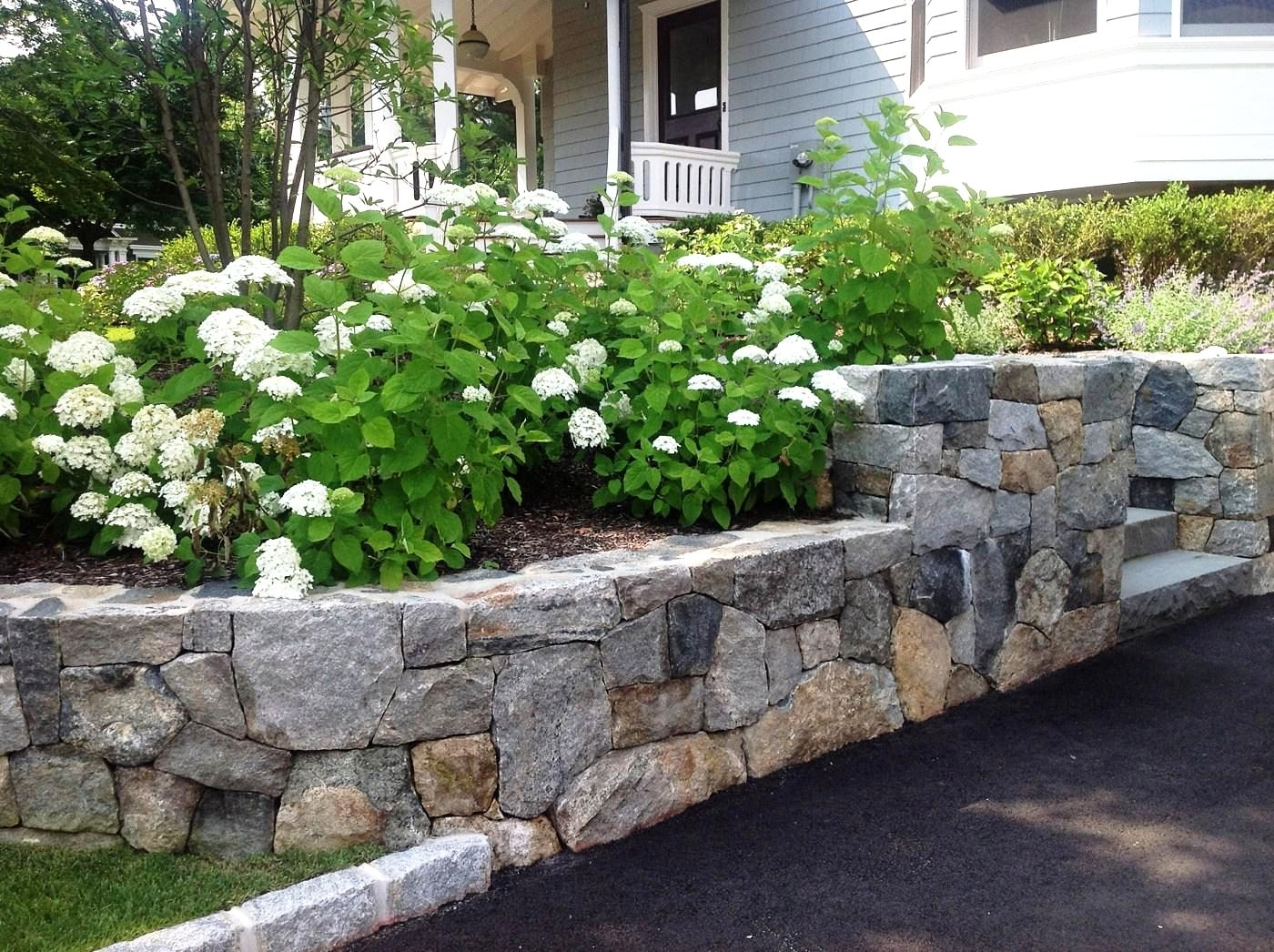 Image of: Landscaping Ideas For Retaining Walls With Regard To Retaining Wall Landscaping Ideas For Retaining Wall Landscaping