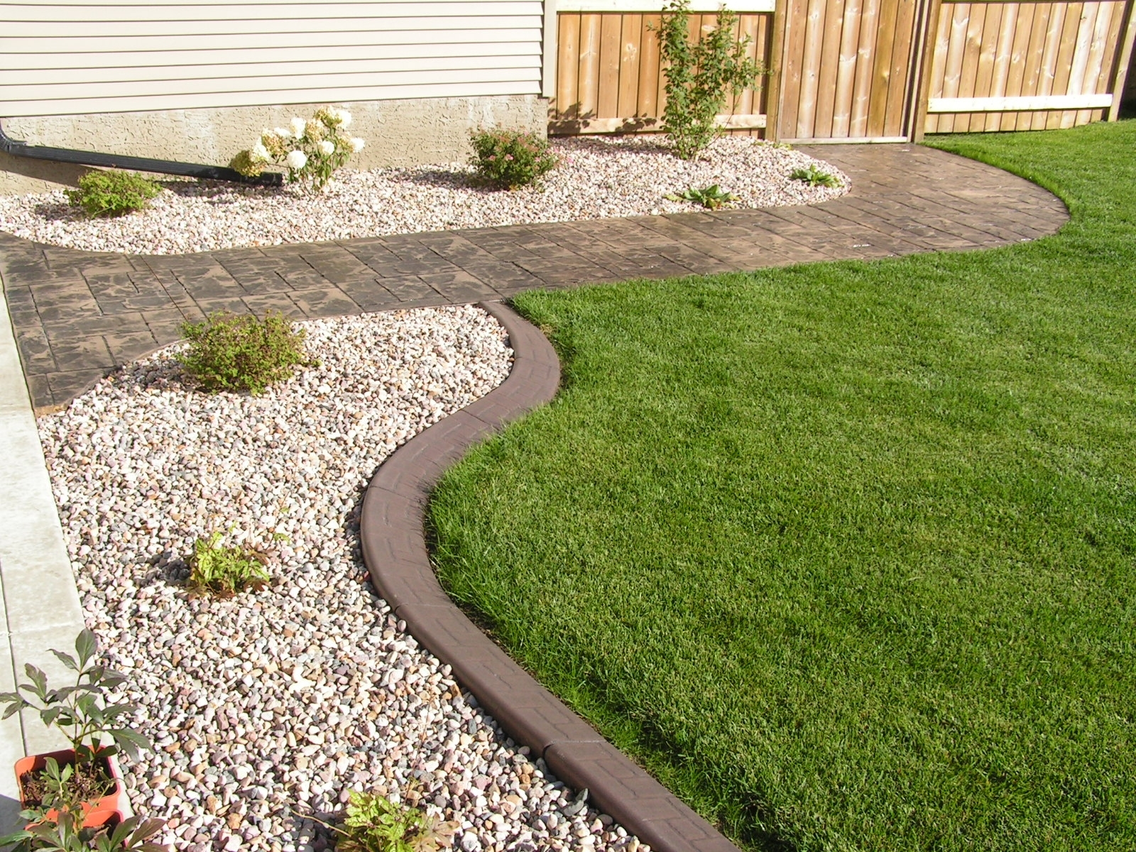 Image of: Landscaping Landscape Curbing Ideas Within Decorative Landscape Curbing Ideas Decorative Landscape Curbing Ideas
