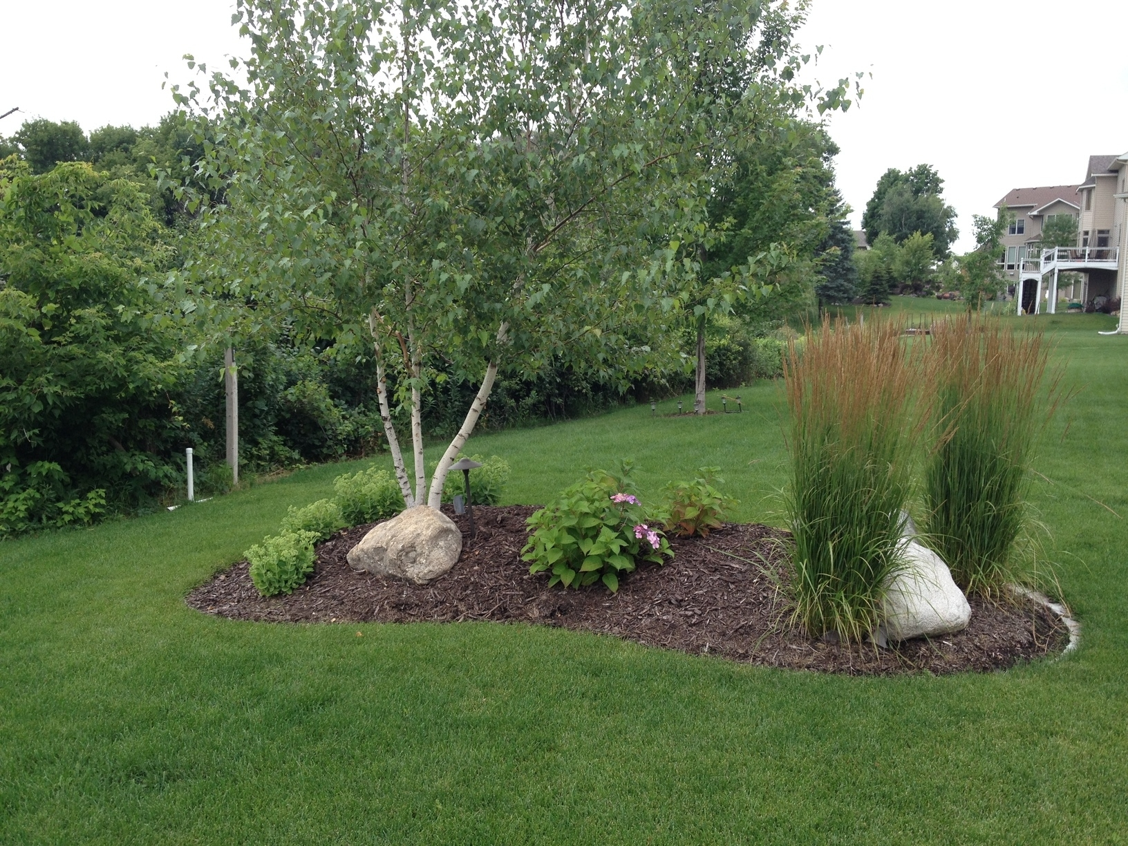Image of: Landscaping With A Berm Landscape Denver Glacier View Design Pertaining To Landscape Berm Best Design Landscape Berm