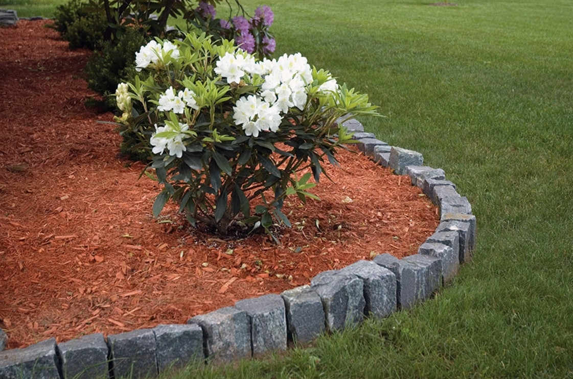 Image of: Lawn Edging Stone Ideas Inexpensive Landscape Edging Ideas Inside Landscape Edging Borders Design Landscape Edging Borders