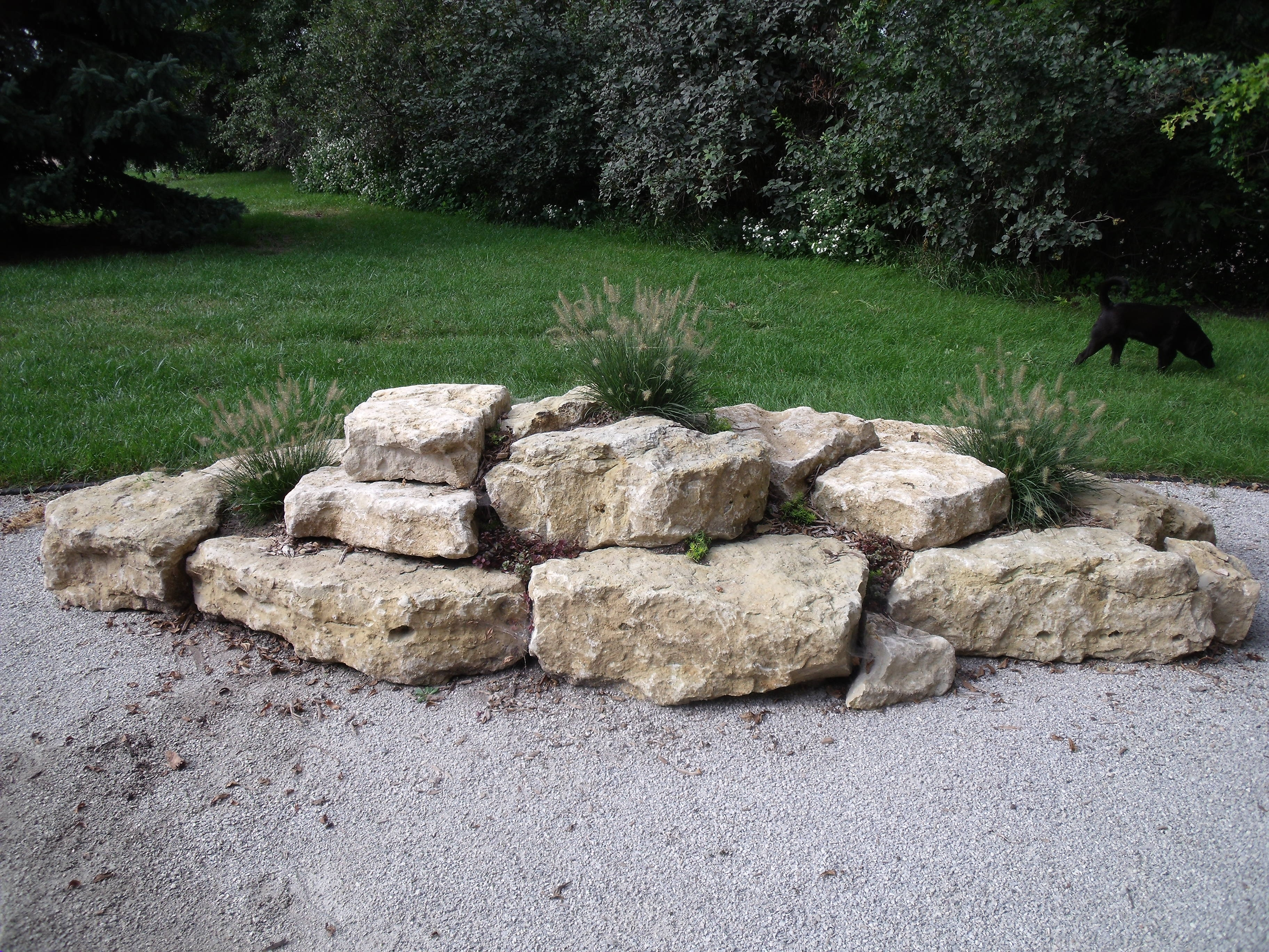 Image of: Limestone Boulders For You Garden Remembering Of Correct In Flat Landscaping Rocks Flat Landscaping Rocks Garden