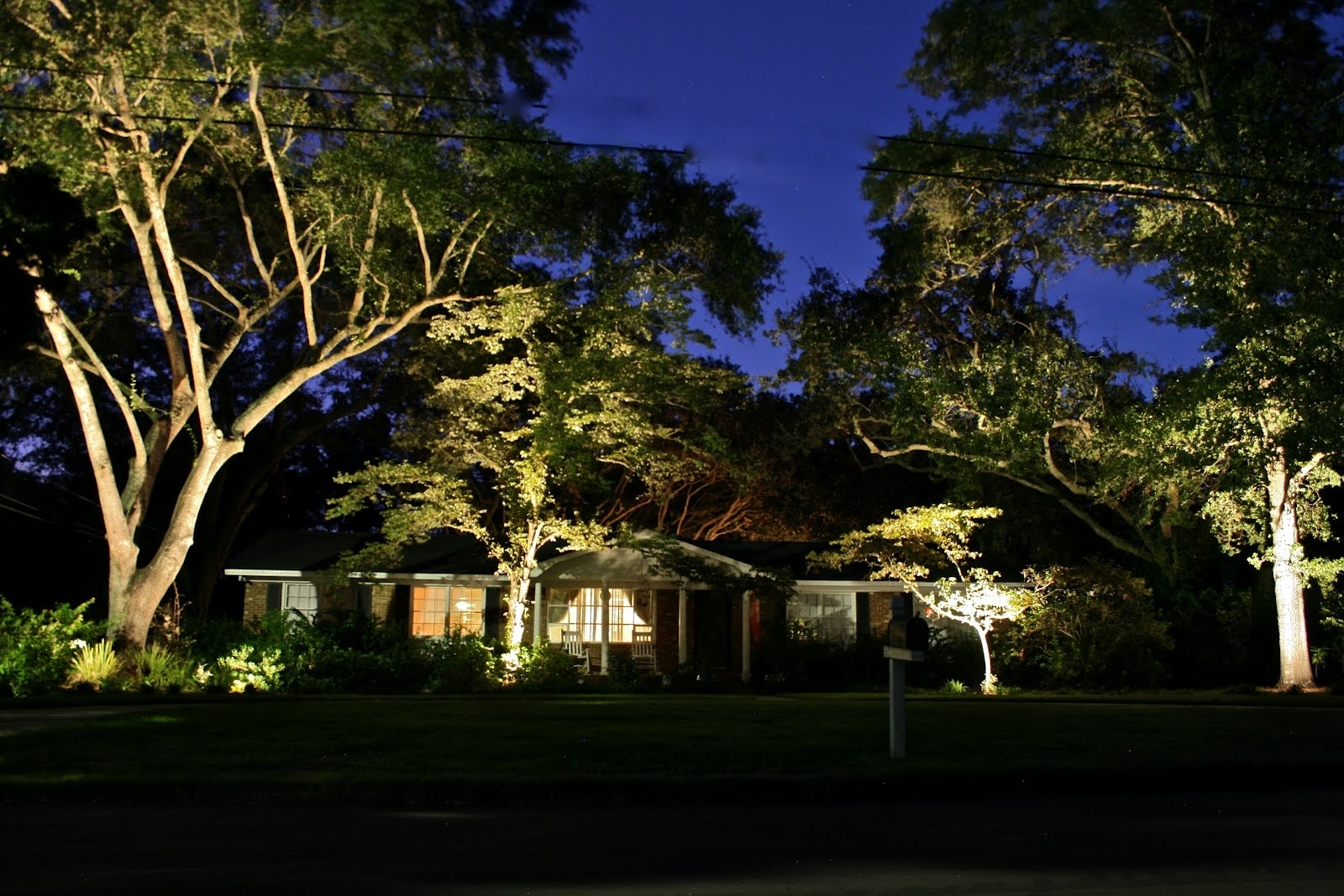 Image of: Low Voltage Landscape Lighting Kits Home Designs For Landscape Uplights Landscape Uplights Year Round