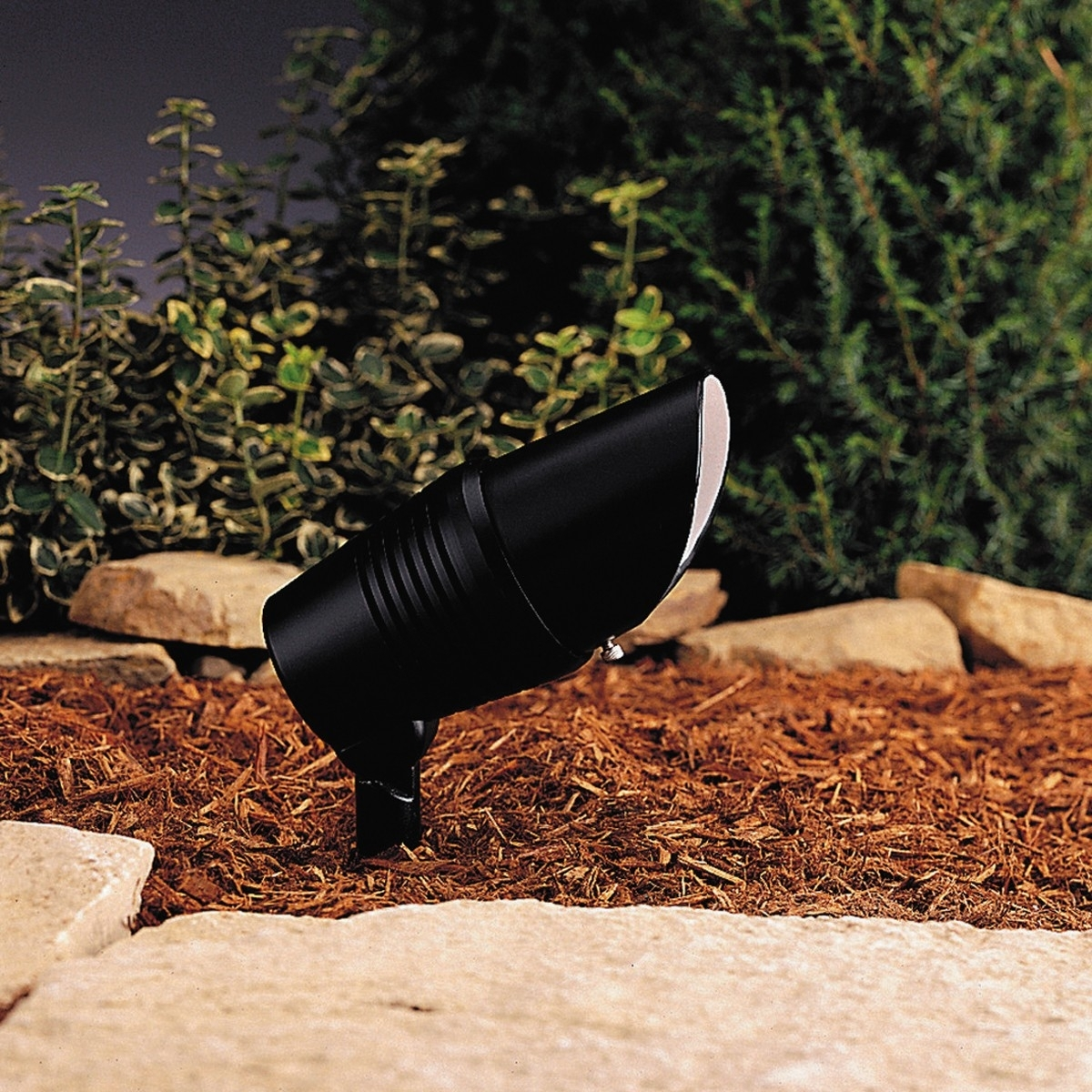 Image of: Low Voltage Landscape Spot Light Outdoor Landscape Spotlights Intended For Landscape Spotlights Wonderful Landscape Spotlights At Night
