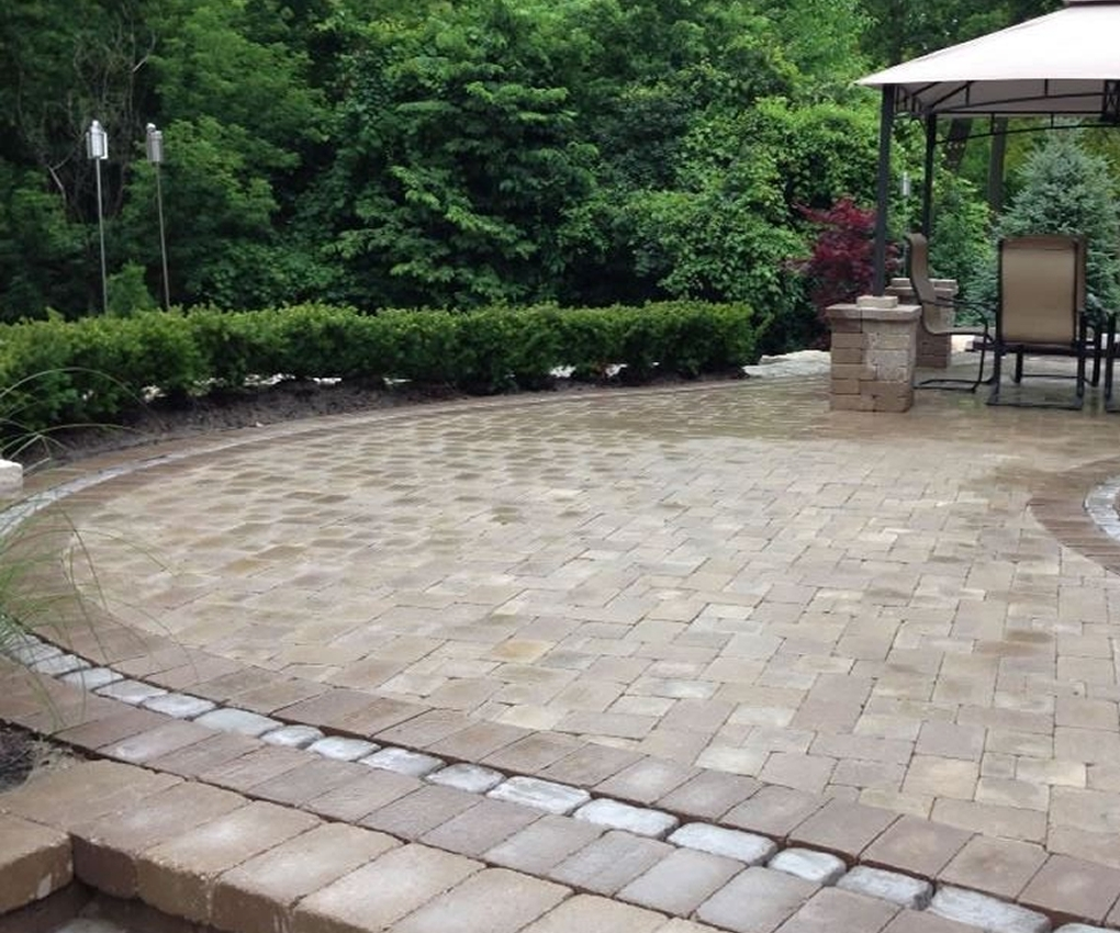 Image of: Michigans Landscaping Brick Paving Hardscape Company Intended For Hardscape Landscaping Hardscape Landscaping A Hill