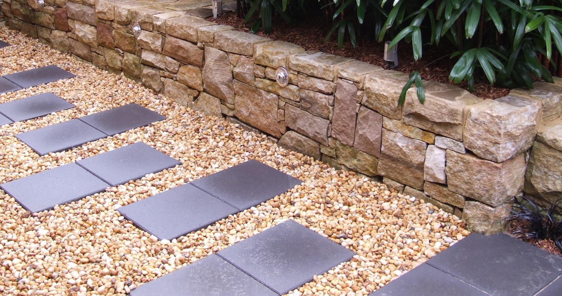 Image of: Harrietts Gardens Intended For Landscape Stepping Stones Beauty Landscape Stepping Stones