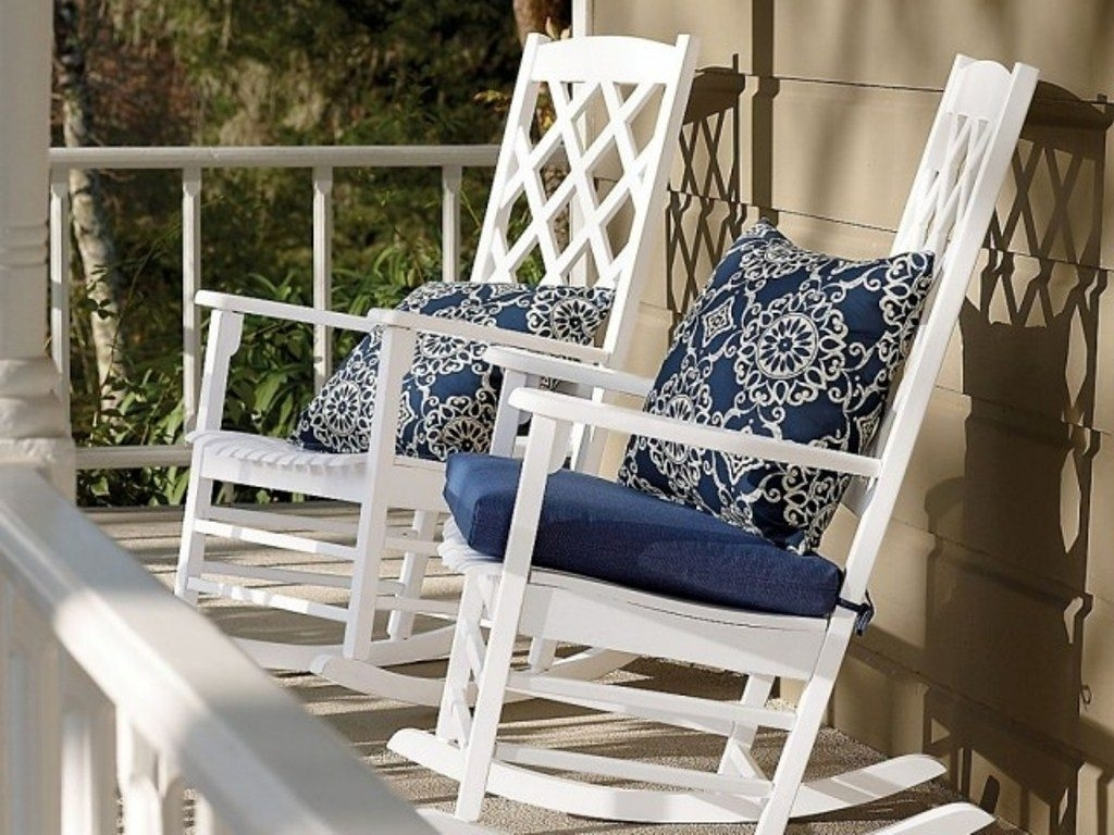 Image of: Modern Concept Outdoor Rocking Chair Cushion Sets With Photos Of For Outdoor Rocking Chairs With Cushions Good Outdoor Rocking Chairs With Cushions