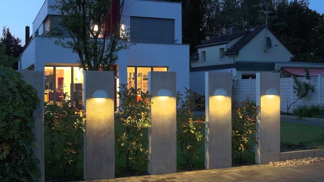 Modern Outdoor Lighting Fixture Design Ideas Youtube Within Outdoor Lighting Designs Outdoor Lighting Designs In Facades