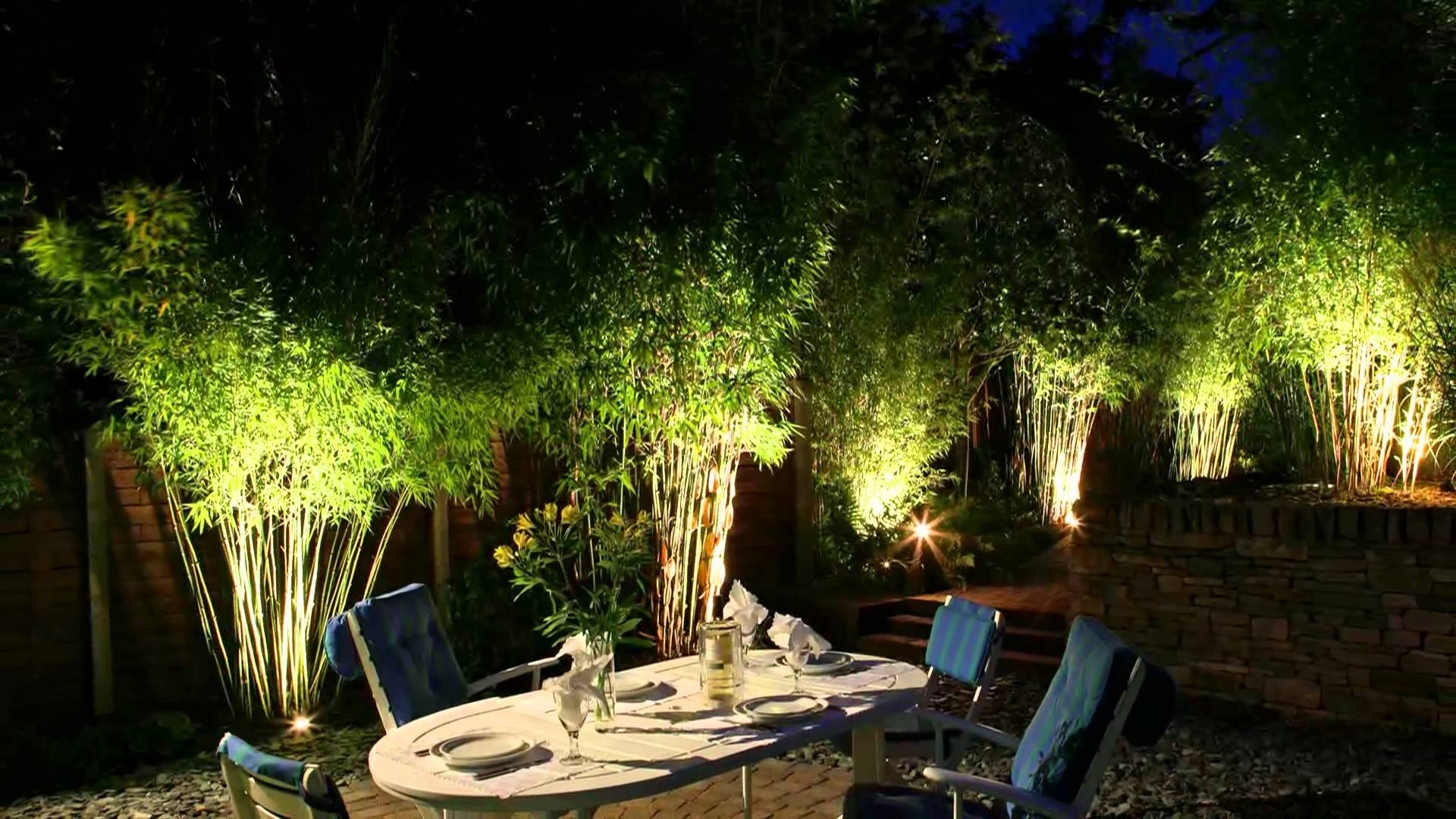 Image of: Moonlight Design Garden Lighting Specialists Youtube For Outdoor Lighting Designs Outdoor Lighting Designs In Facades
