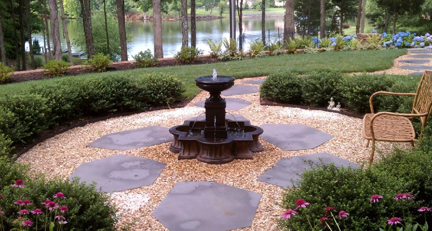 Image of: Northern Ky Gravel Supplier Showplace Garden Center Regarding Decorative Landscape Gravel Different Types Decorative Landscape Gravel