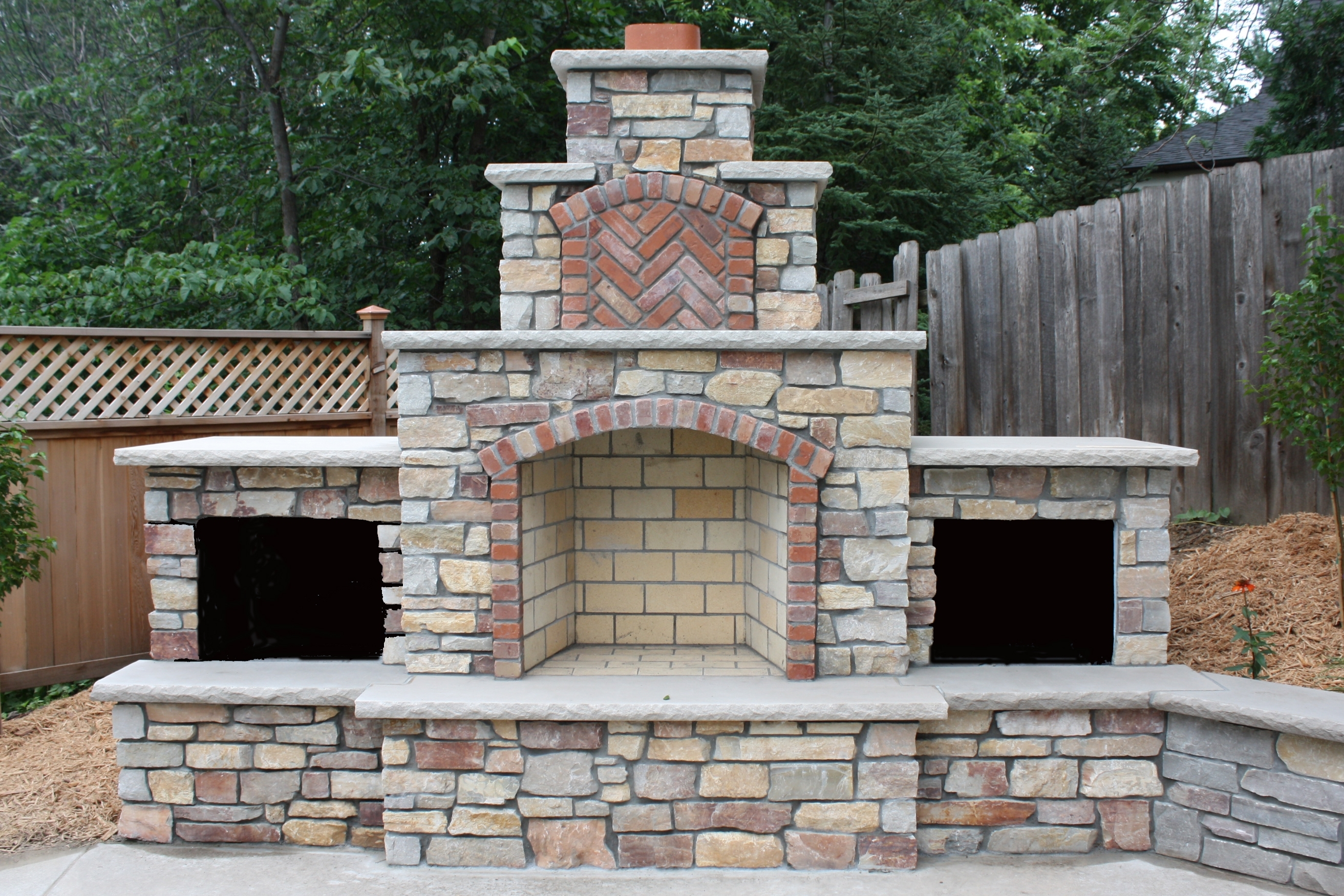 Image of: Outdoor Fireplace Ideas For Outdoor Fireplace Flue Cleaning Guide