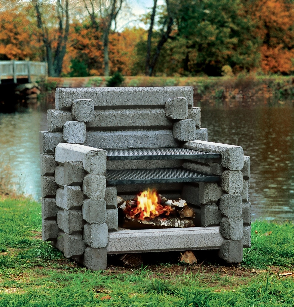 Image of: Outdoor Fireplaces For Unique Outdoor Fireplaces Grill Diy Unique Outdoor Fireplaces Grill