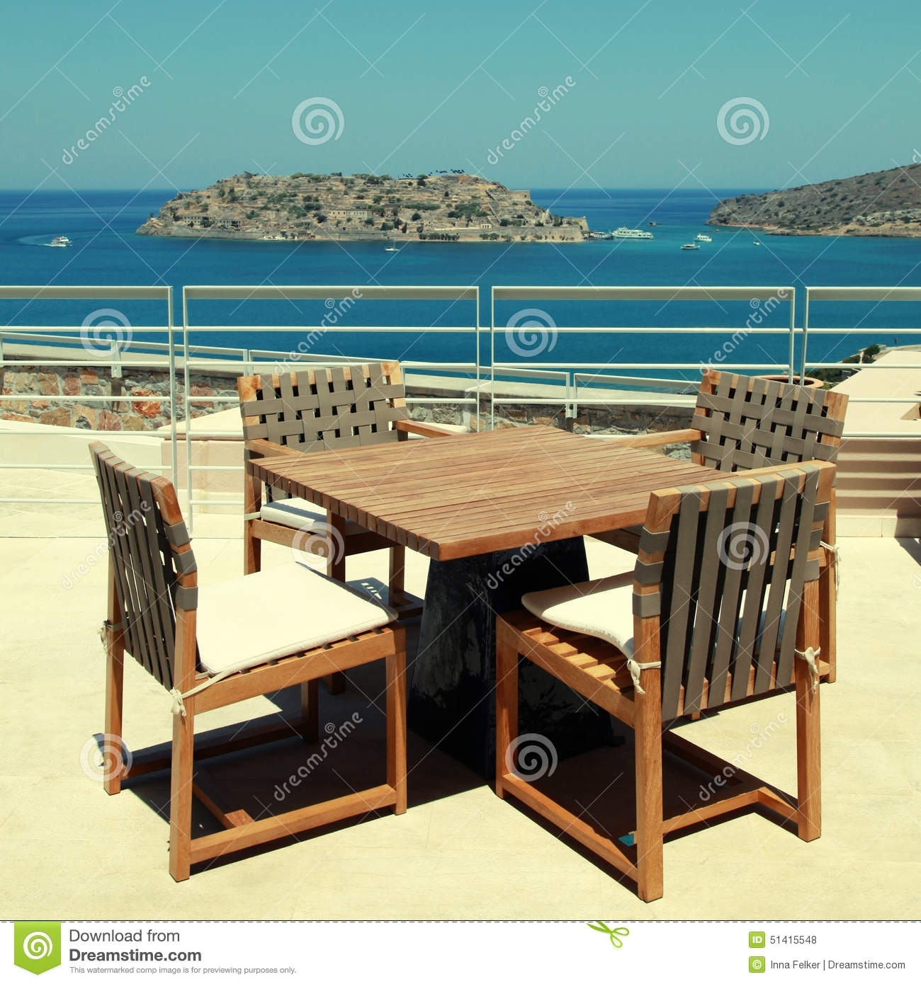 Image of: Outdoor Furniture In Summer Resortgreece Stock Photography Throughout Resort Outdoor Furniture Beautiful Resort Outdoor Furniture