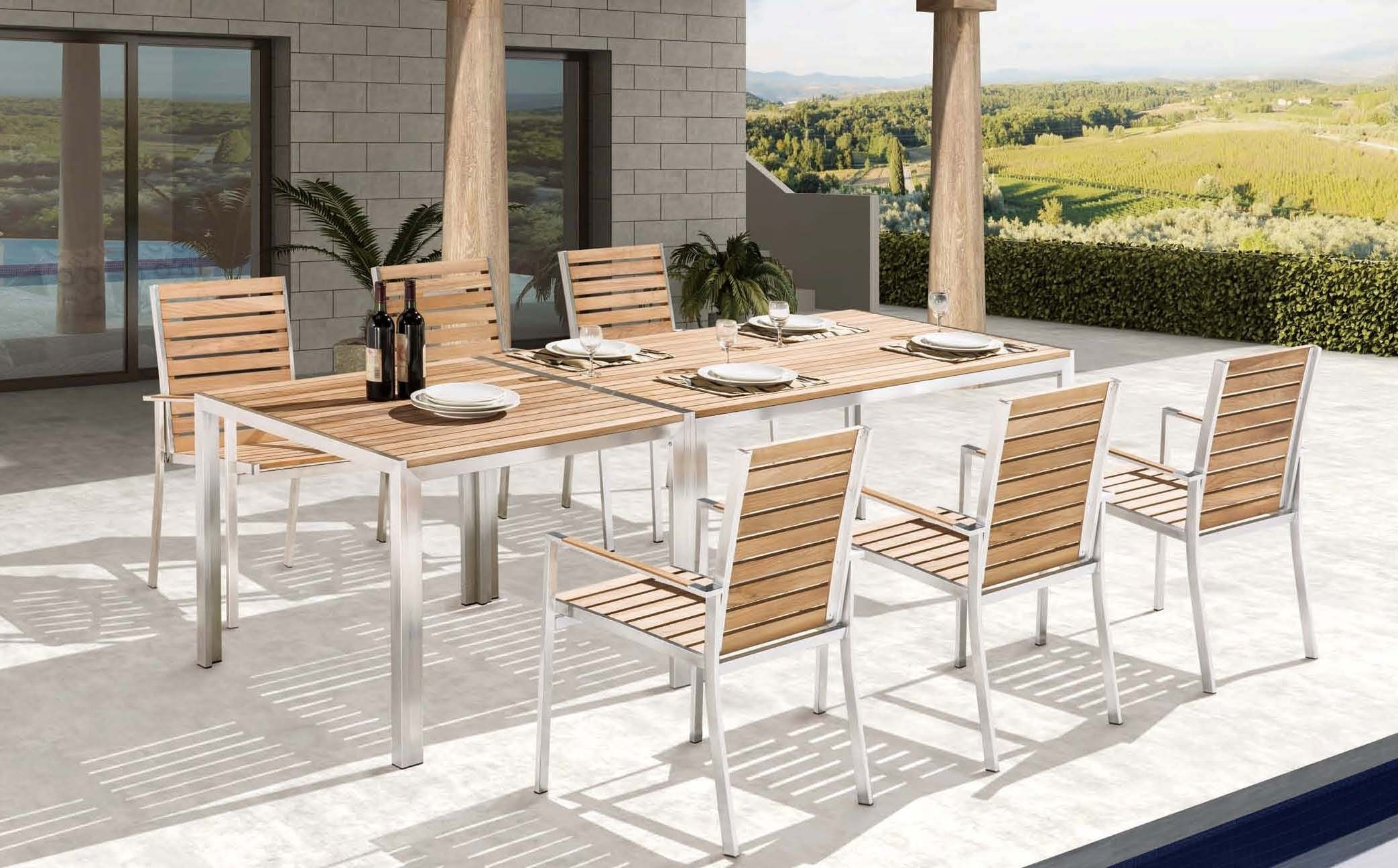 Image of: Outdoor Furnitureningbo Homey Union Coltd Regarding Outdoor Stainless Steel Furniture Great Outdoor Stainless Steel Furniture