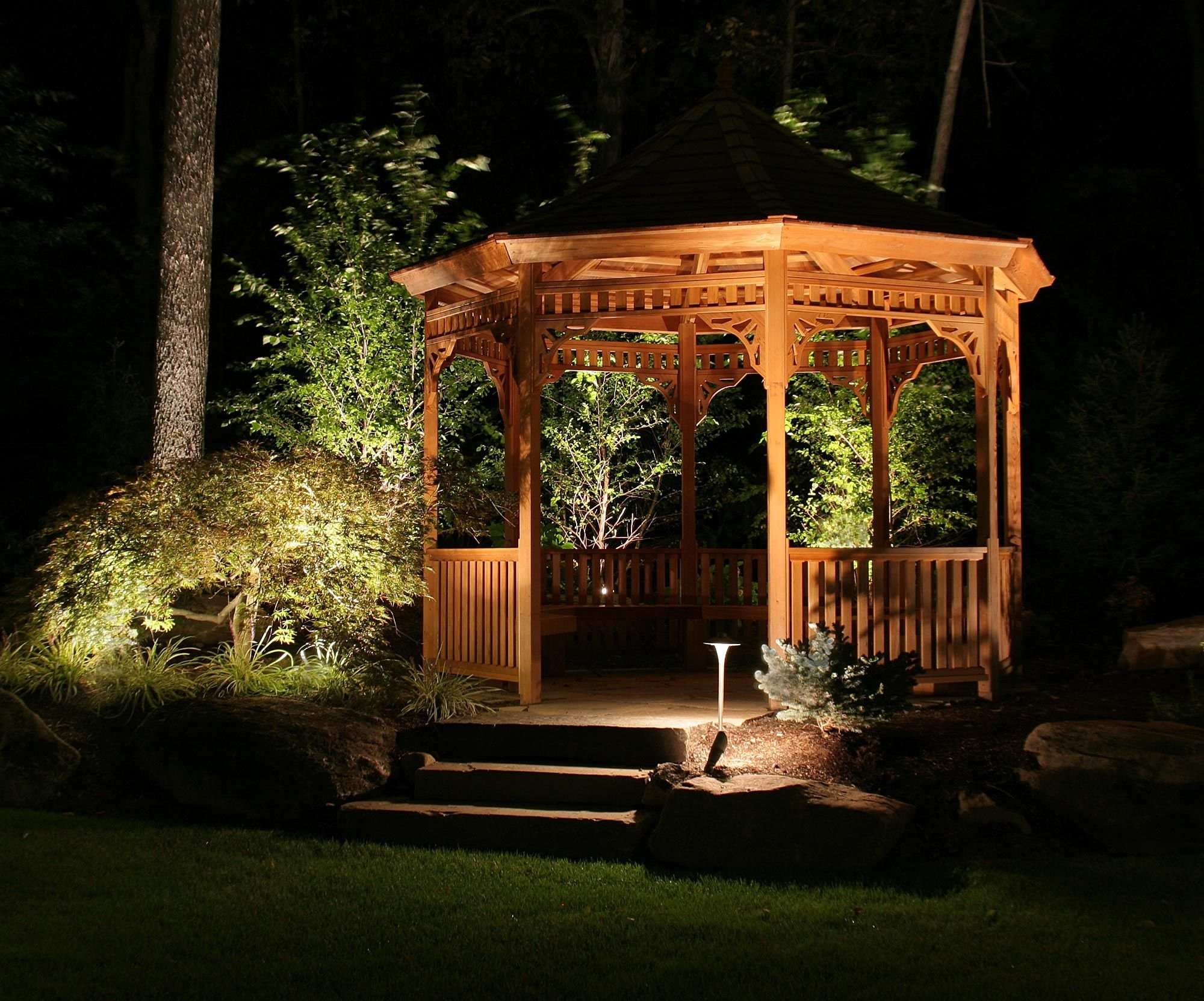 Image of: Outdoor Gazebo Lighting For Outdoor Lighting Fixtures For Gazebos Outdoor Lighting Fixtures For Gazebos