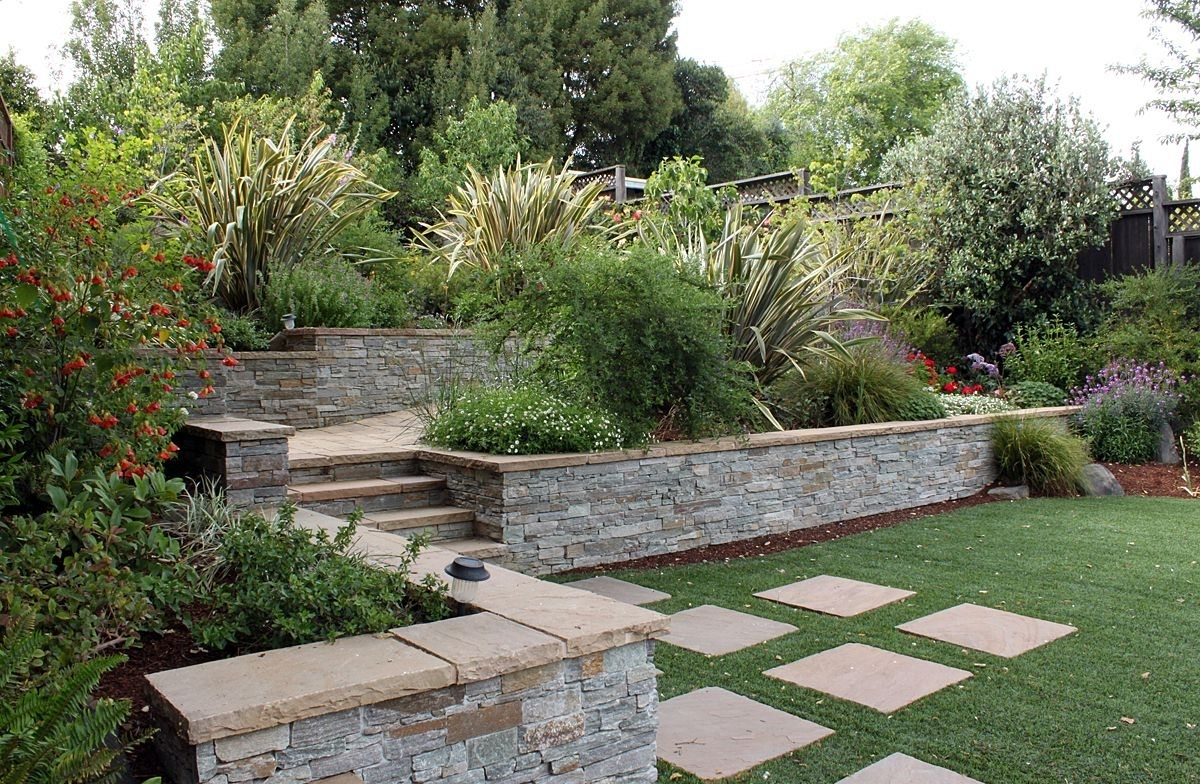 Image of: Outdoor Hillside Landscaping Ideas Wearefound Home Design With Regard To Hillside Landscape Ideas Creative Hillside Landscape Ideas
