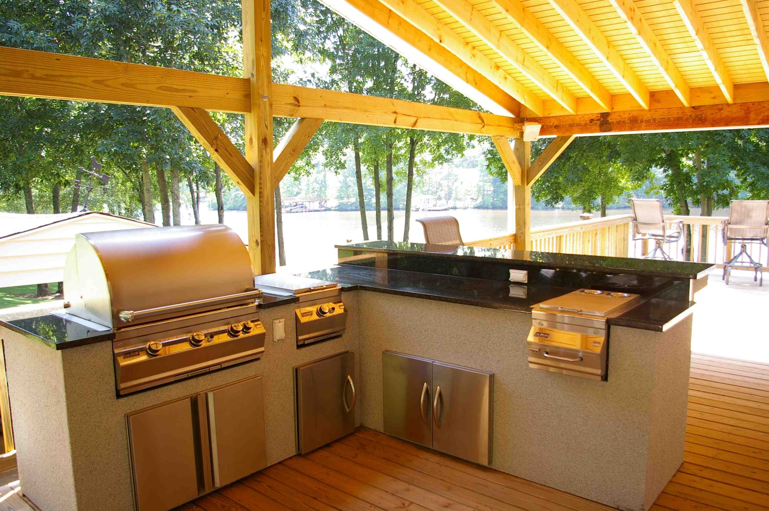 Outdoor Kitchen Outdoor Living With Archadeck Of Chicagoland Intended For Outdoor Kitchen Wood Countertops Nice Outdoor Kitchen Wood Countertops Inspiration