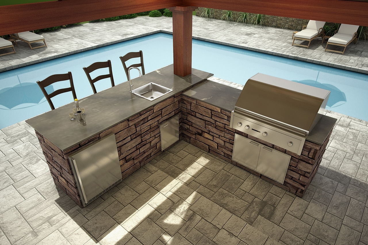 Image of: Outdoor Kitchens For Eldorado Stone Outdoor Kitchen Eldorado Stone Outdoor Kitchen