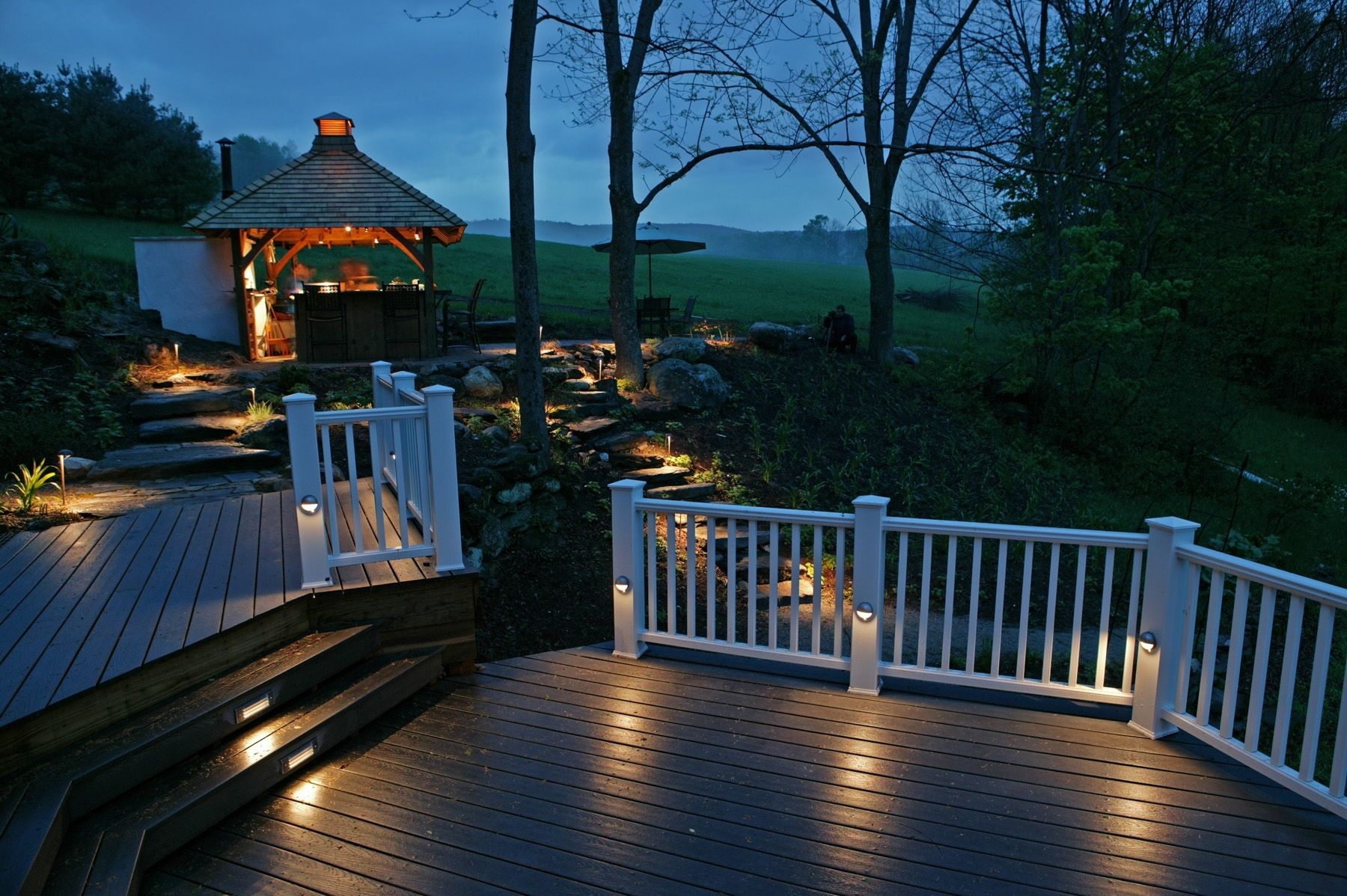 Image of: Outdoor Led Lighting Ideas Intended For Outdoor Lighting Fixtures For Gazebos Outdoor Lighting Fixtures For Gazebos