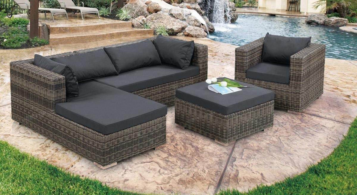 Image of: Outdoor Patio Furniture Sectionals Inside Outdoor Contemporary Furniture Wooden Outdoor Contemporary Furniture