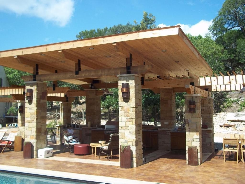 Image of: Outdoor Roof Ideas Antevortaco Inside Outdoor Kitchen Roofs Outdoor Kitchen Roofs Painting