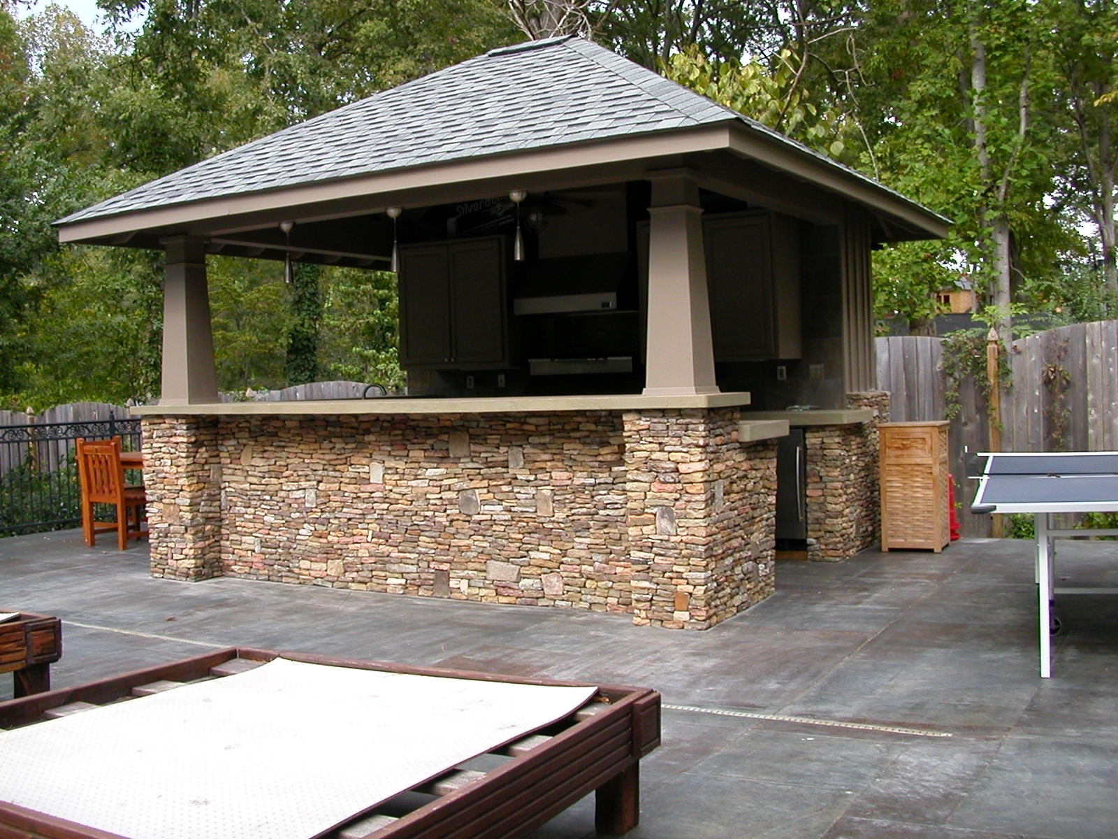 Image of: Outdoor Roof Ideas Outdoor Kitchen Roof Design Gazebo Designs In Outdoor Kitchen Roofs Outdoor Kitchen Roofs Painting
