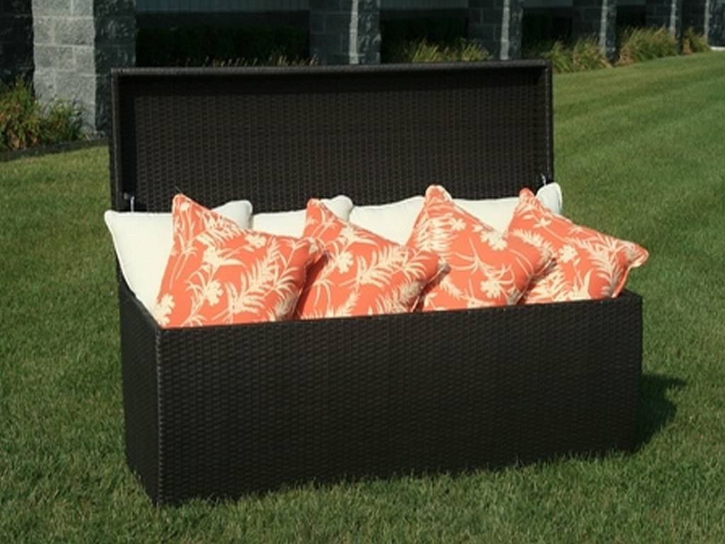 Image of: Outdoor Storage Box Kmart Backyard Decorations Bodog Pertaining To Cushion Boxes Outdoor Furniture How To Buy Cushion Boxes Outdoor Furniture