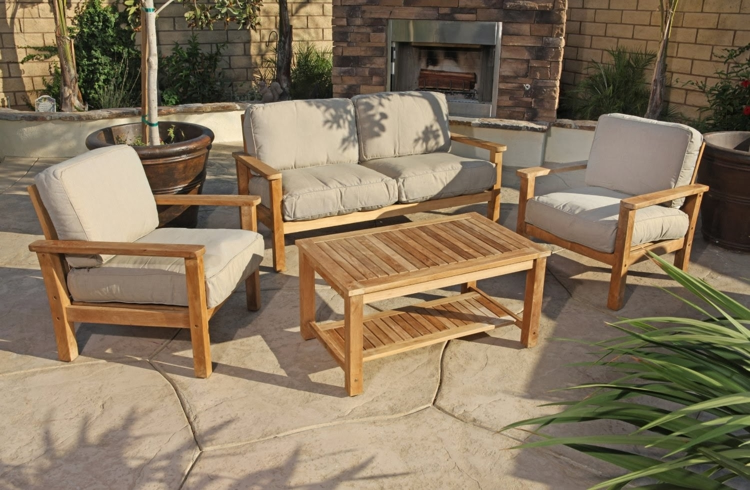 Image of: Outdoor Teak Patio Furniture Teak Wood Outdoor Furniture Homeblu In Outdoor Teak Wood Furniture Ways To Keep Outdoor Teak Wood Furniture