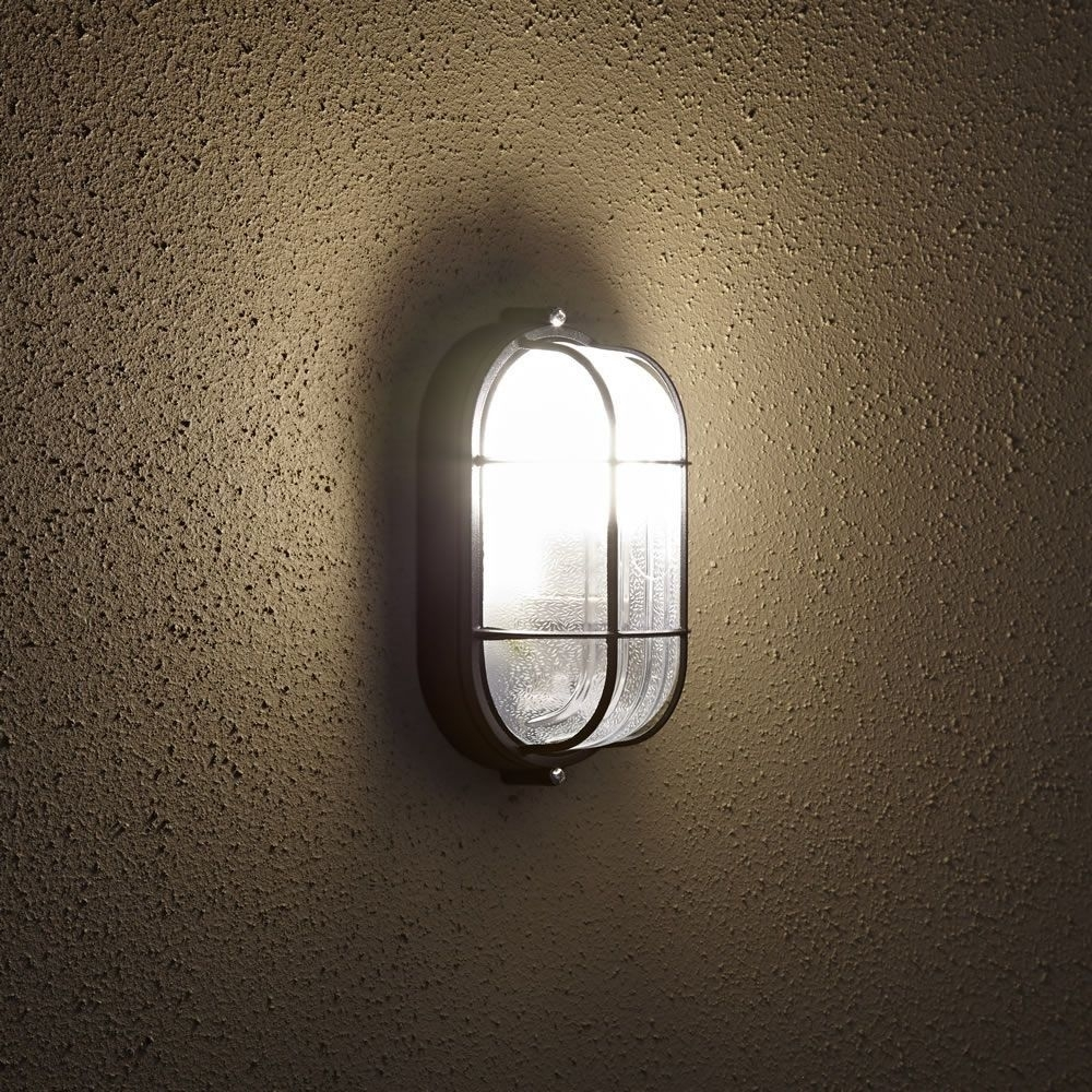 Image of: Oval Bulkhead Outdoor Wall Light With Outdoor Bulkhead Lighting Wonderful Garden Outdoor Bulkhead Lighting