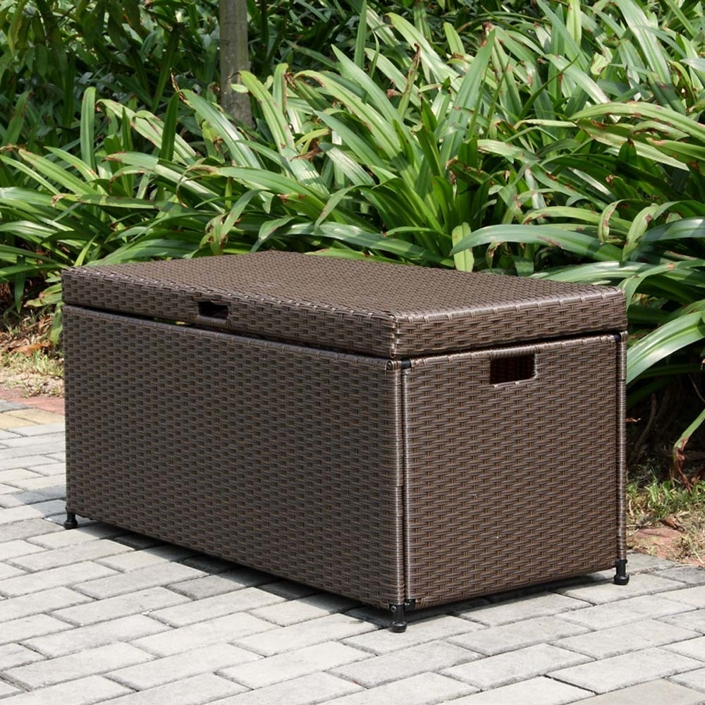 Image of: Patio Furniture Cushion Storage Ideas Glf Home Pros For Cushion Boxes Outdoor Furniture How To Buy Cushion Boxes Outdoor Furniture