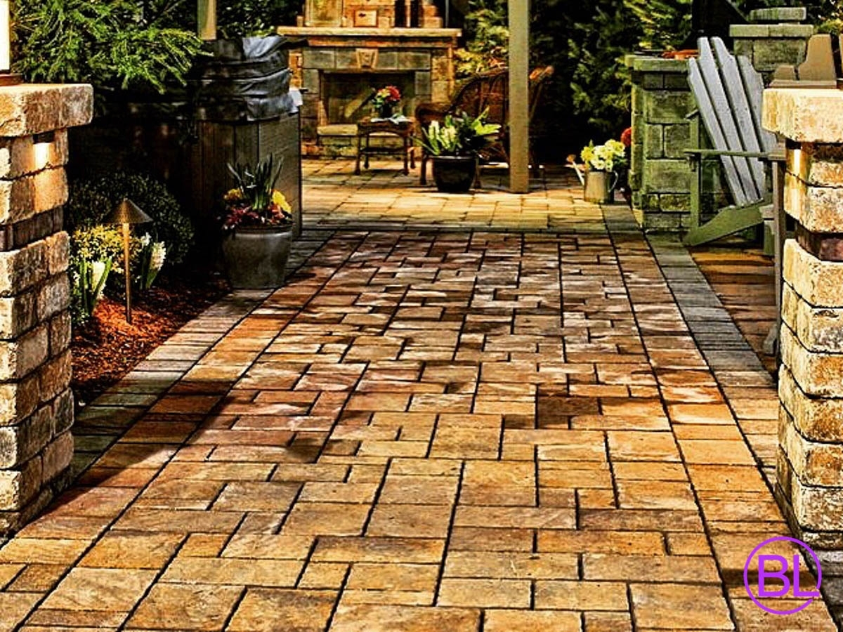 Image of: Pavers Bricks Landscape Regarding Bricks For Landscaping Edge Bricks For Landscaping Ideas