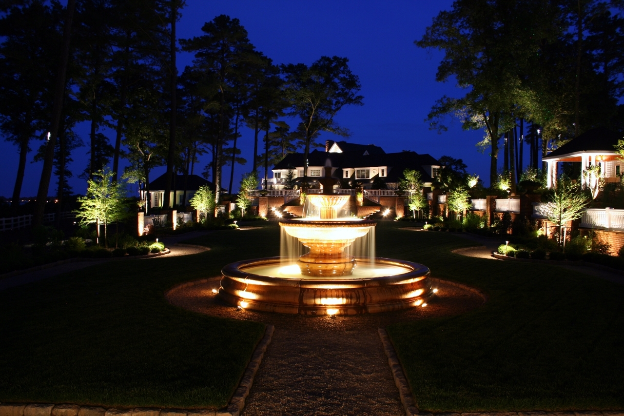 Image of: Preferred Properties Landscaping Masonry Outdoor Lighting Pertaining To Outdoor Lighting Designs Outdoor Lighting Designs In Facades