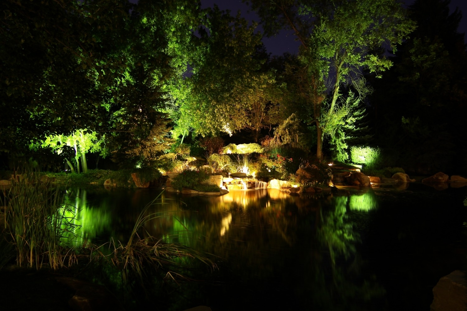 Professional Landscape Lighting Utah Brite Nites Within Landscape Uplights Landscape Uplights Year Round