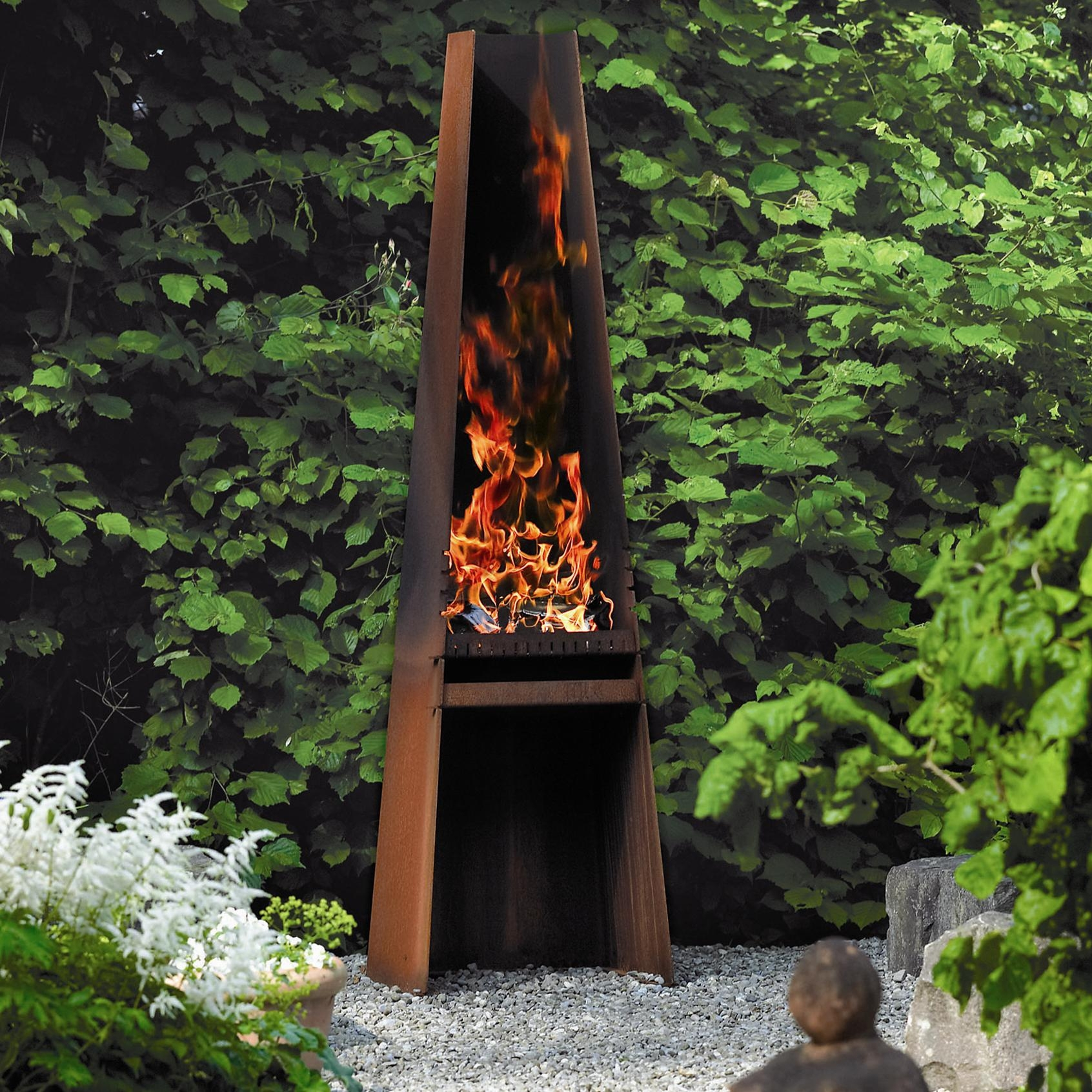 Image of: Rais Gizeh Outdoor Wood Fireplace And Grill For Sale With Regard To Unique Outdoor Fireplaces Grill Diy Unique Outdoor Fireplaces Grill